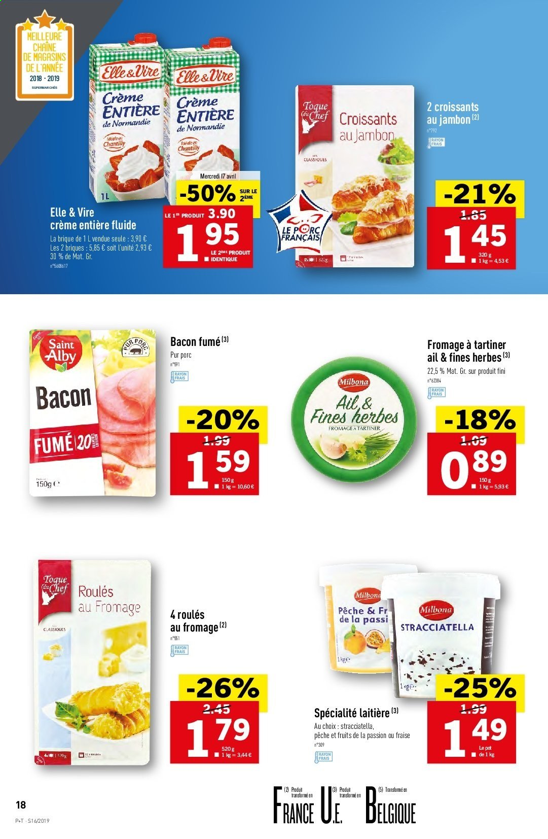 Catalogue Lidl - 17.04.2019 - 23.04.2019. Page 18.