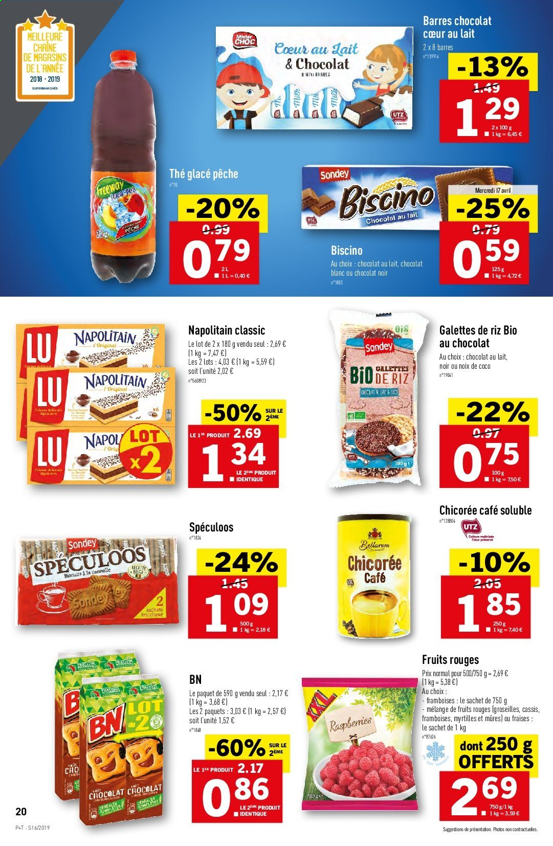 Catalogue Lidl - 17.04.2019 - 23.04.2019. Page 20.