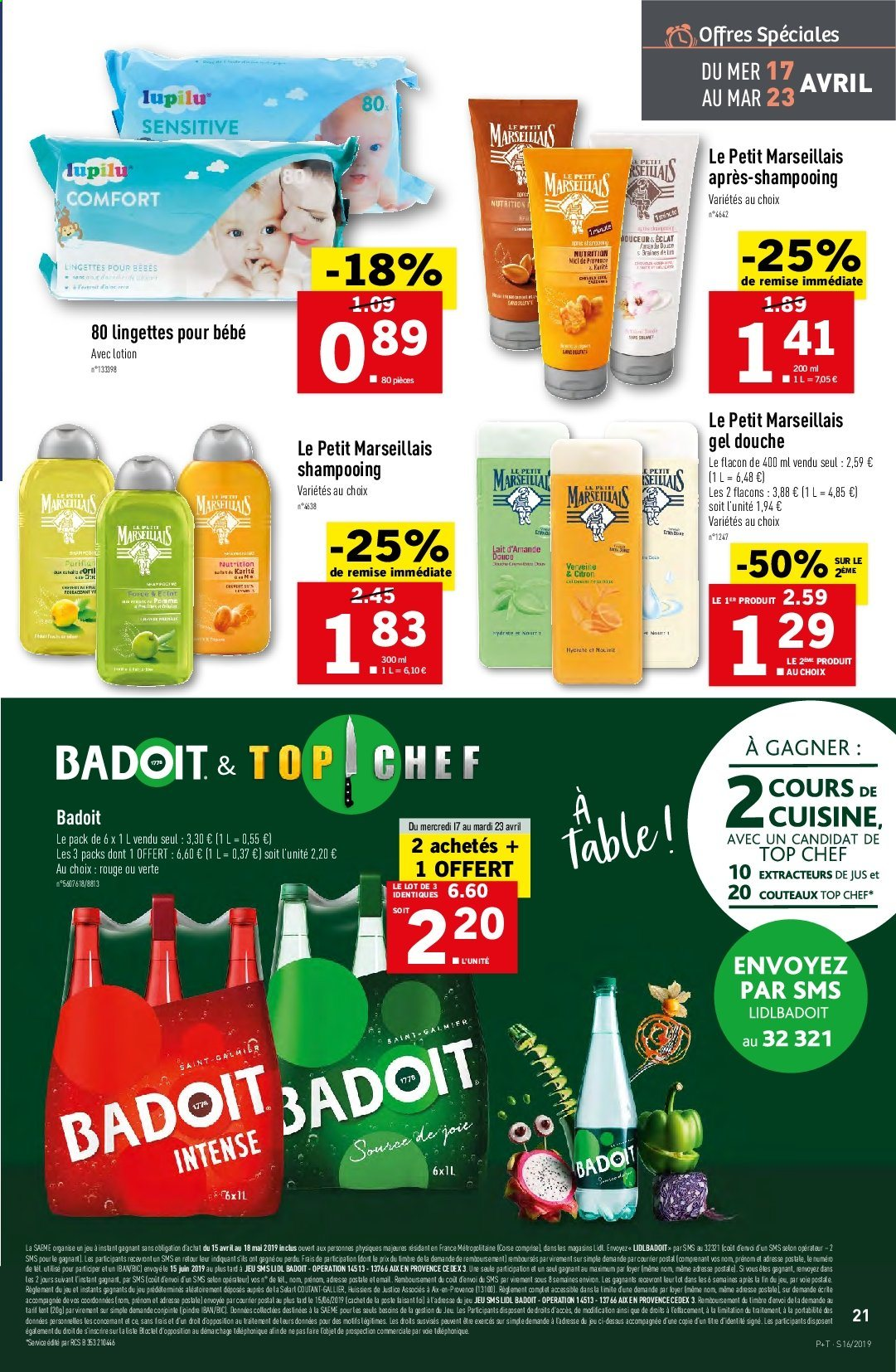 Catalogue Lidl - 17.04.2019 - 23.04.2019. Page 21.