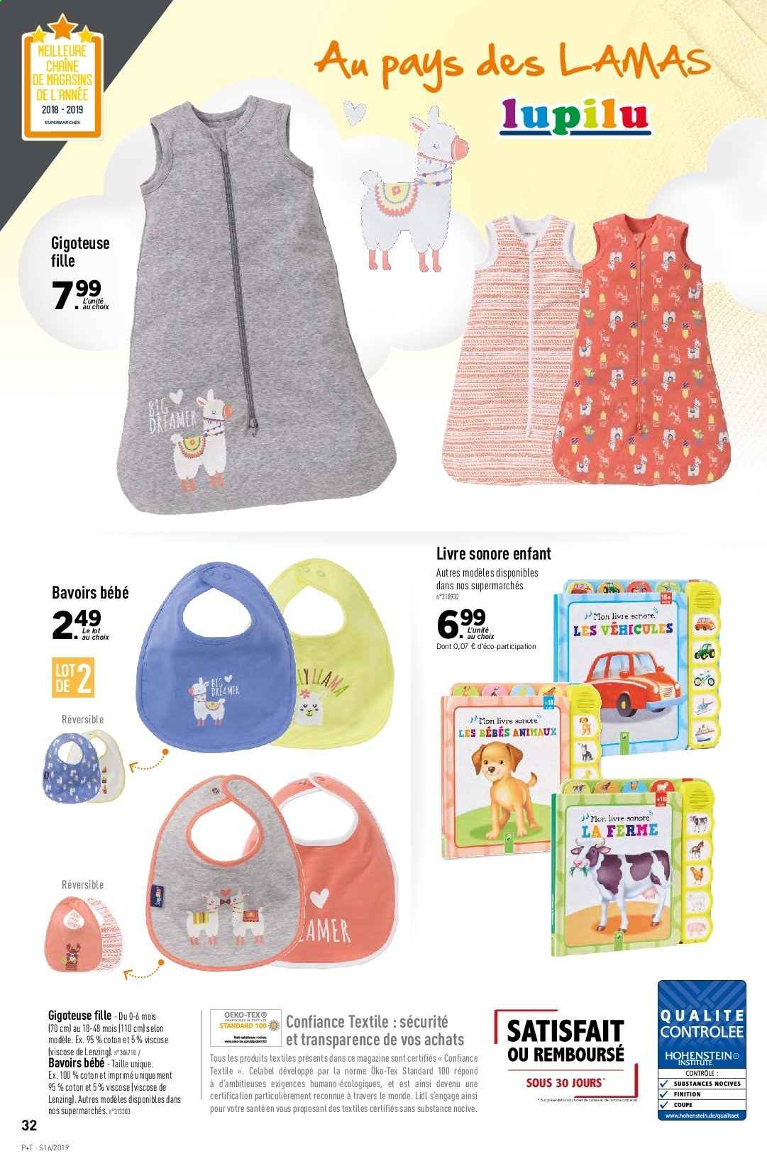 Catalogue Lidl - 17.04.2019 - 23.04.2019. Page 34.