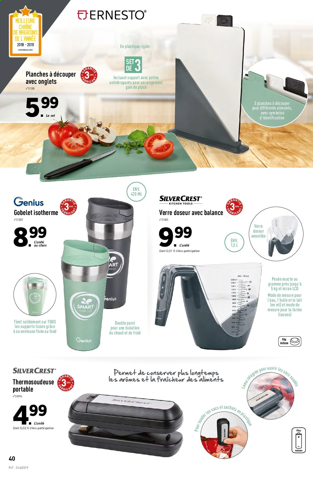 Catalogue Lidl - 17.04.2019 - 23.04.2019. Page 42.