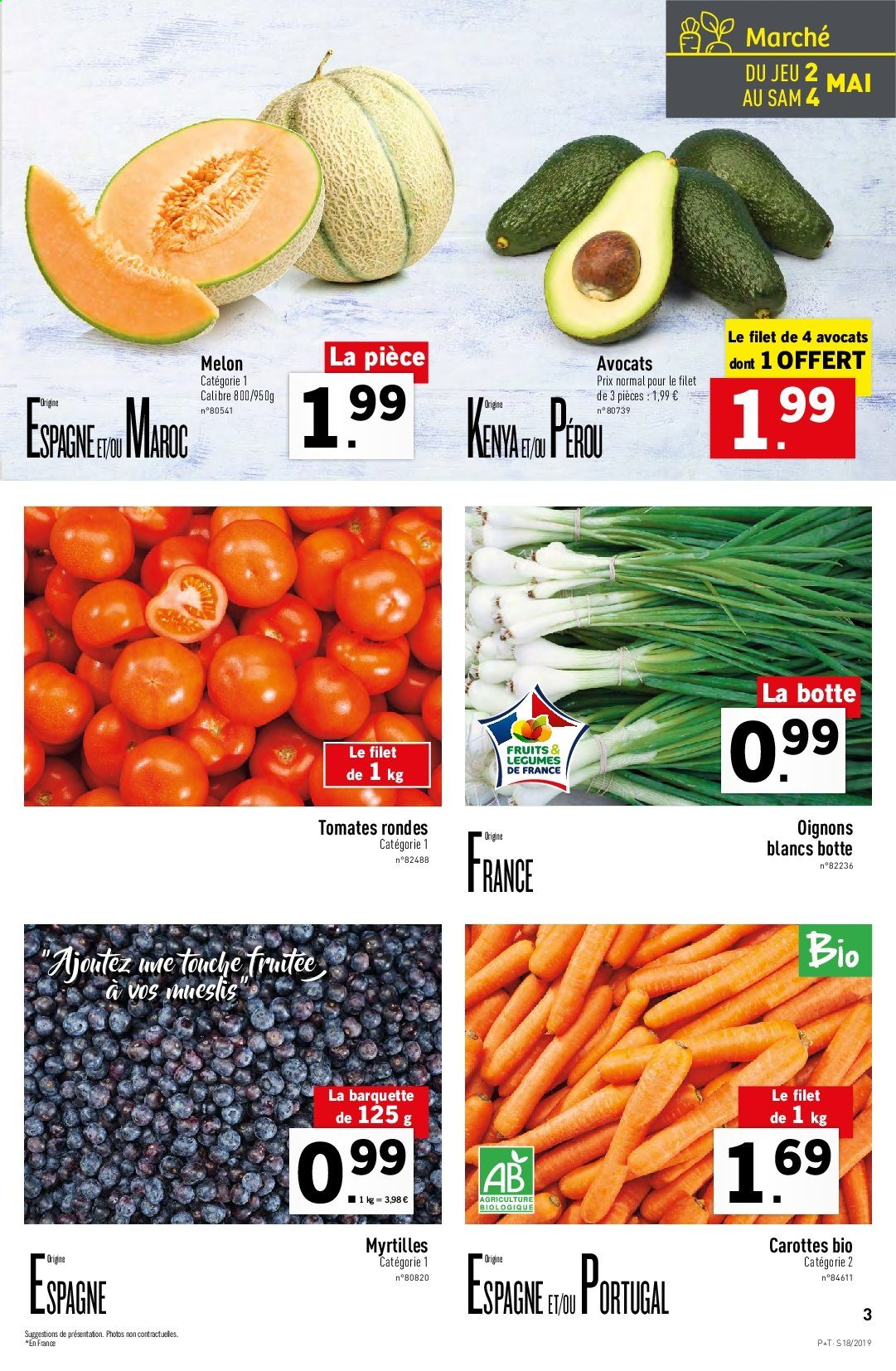 Catalogue Lidl - 30.04.2019 - 07.05.2019. Page 3.