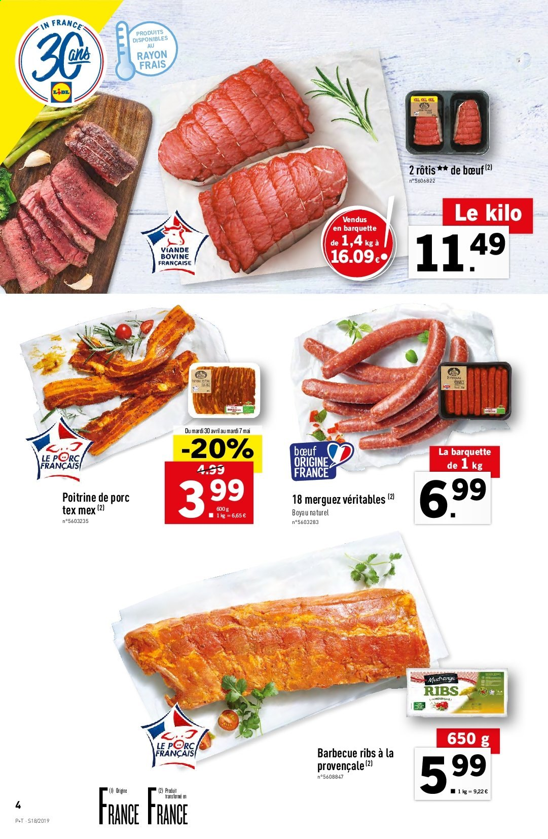 Catalogue Lidl - 30.04.2019 - 07.05.2019. Page 4.