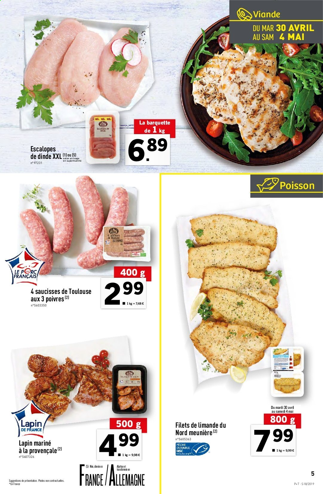 Catalogue Lidl - 30.04.2019 - 07.05.2019. Page 5.