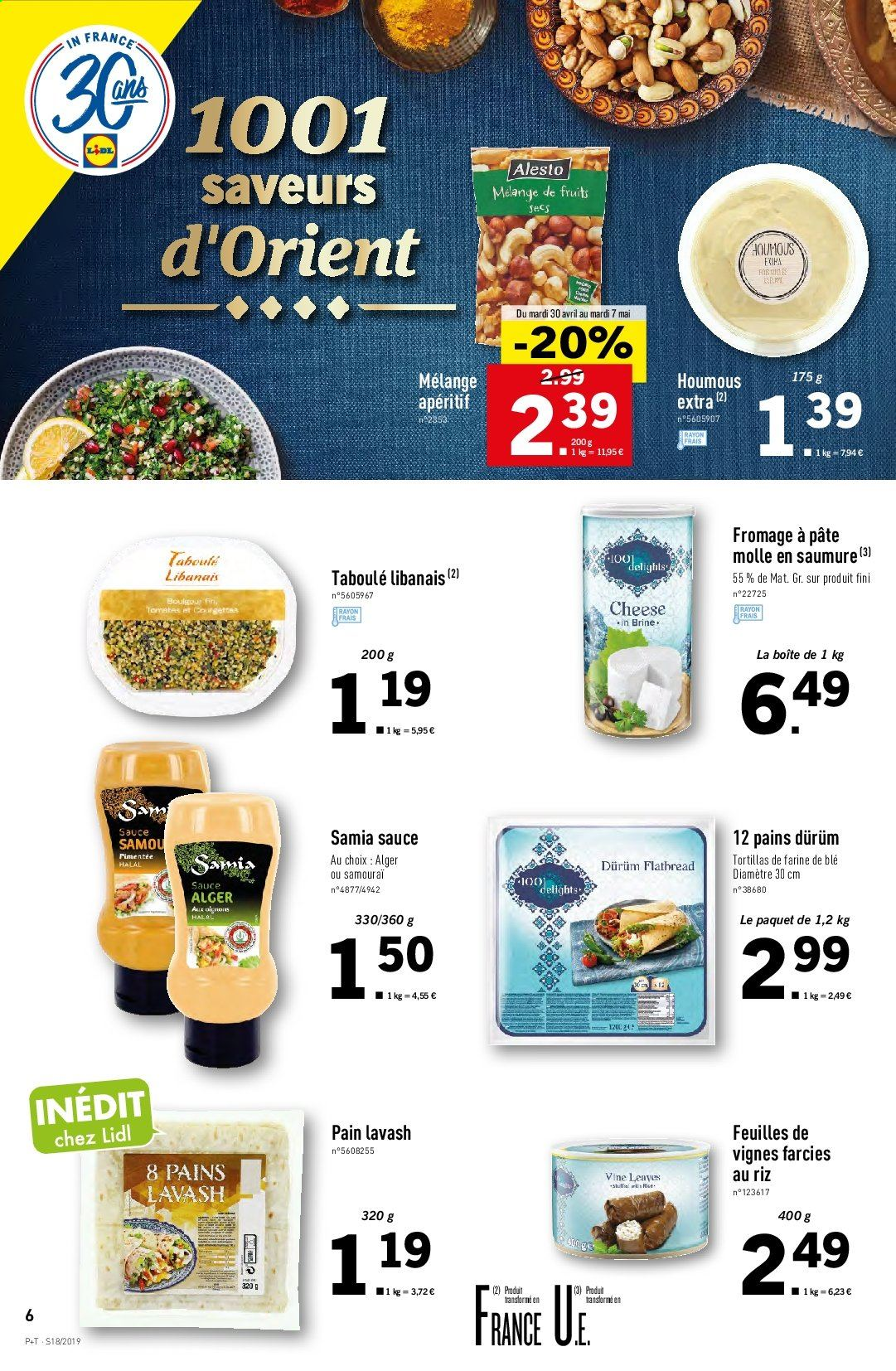 Catalogue Lidl - 30.04.2019 - 07.05.2019. Page 6.