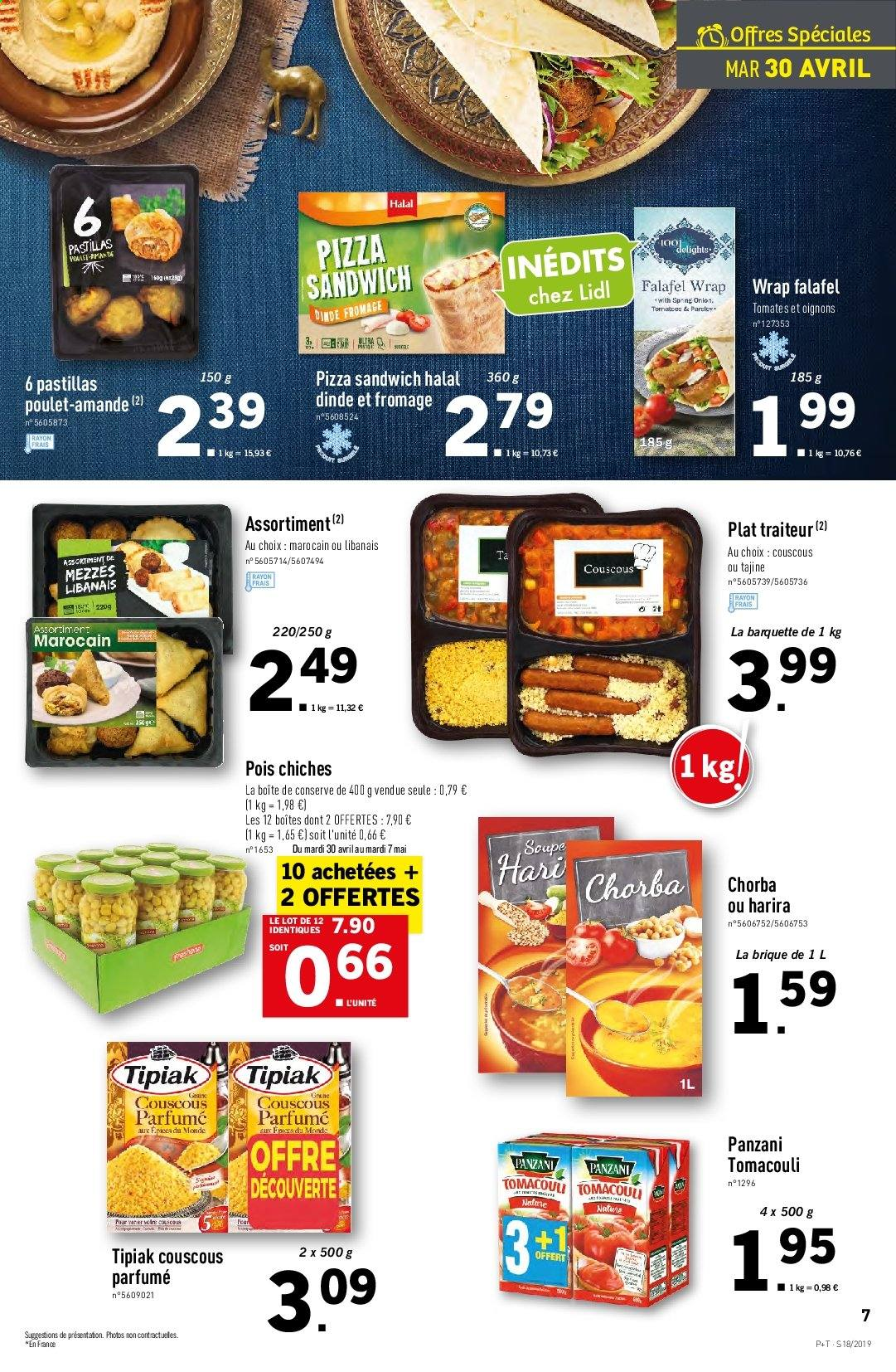 Catalogue Lidl - 30.04.2019 - 07.05.2019. Page 7.