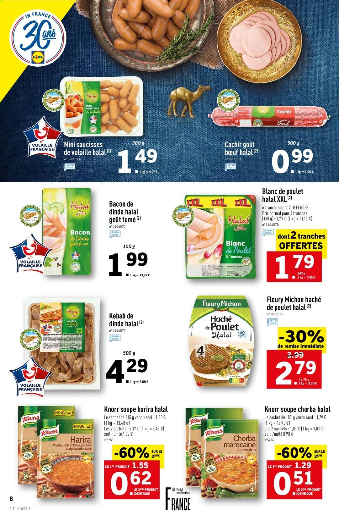 Catalogue Lidl - 30.04.2019 - 07.05.2019. Page 8.