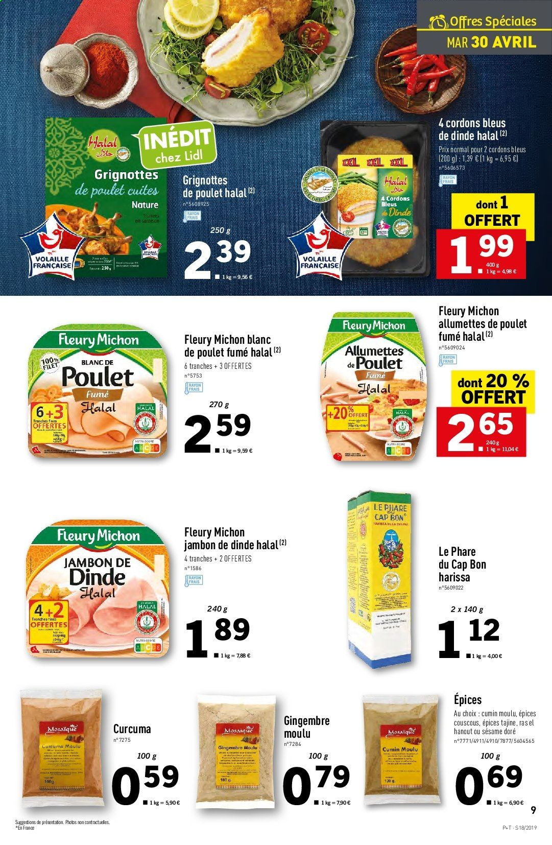 Catalogue Lidl - 30.04.2019 - 07.05.2019. Page 9.