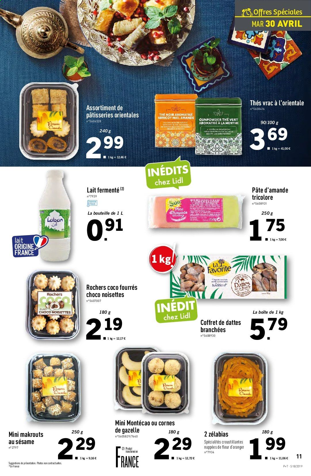 Catalogue Lidl - 30.04.2019 - 07.05.2019. Page 11.