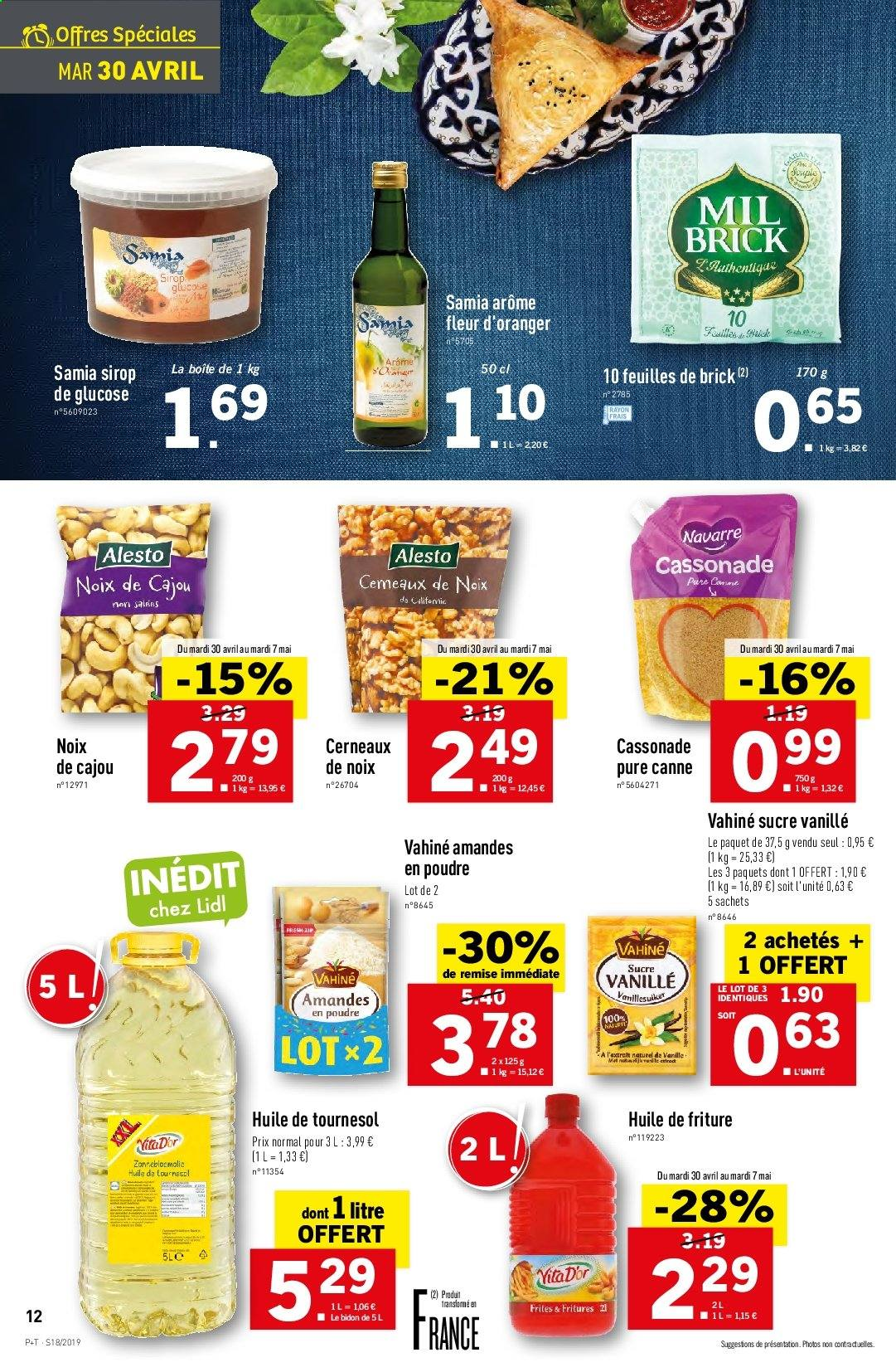Catalogue Lidl - 30.04.2019 - 07.05.2019. Page 12.
