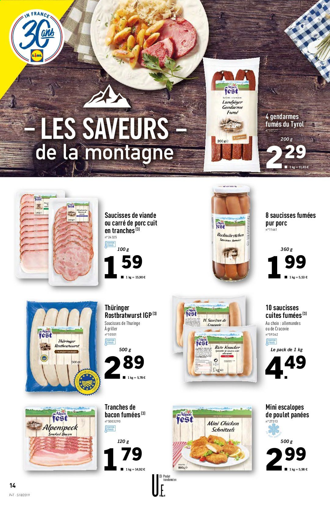 Catalogue Lidl - 30.04.2019 - 07.05.2019. Page 14.