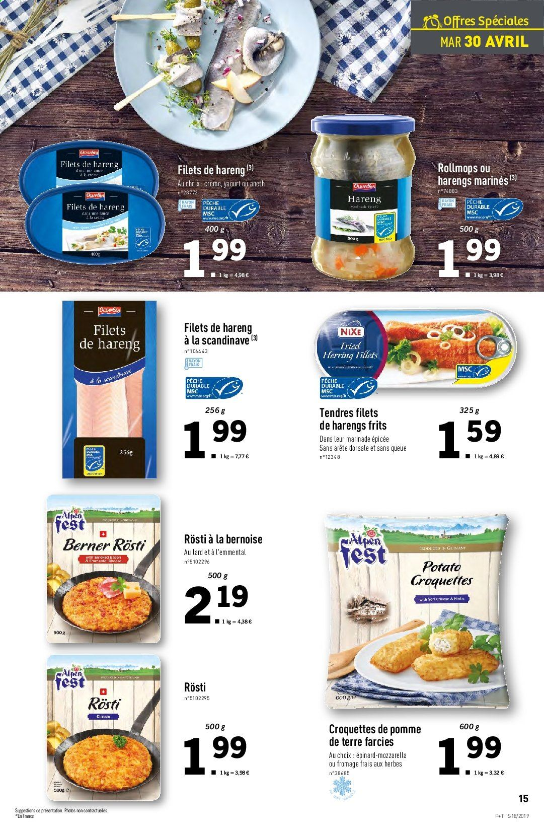 Catalogue Lidl - 30.04.2019 - 07.05.2019. Page 15.
