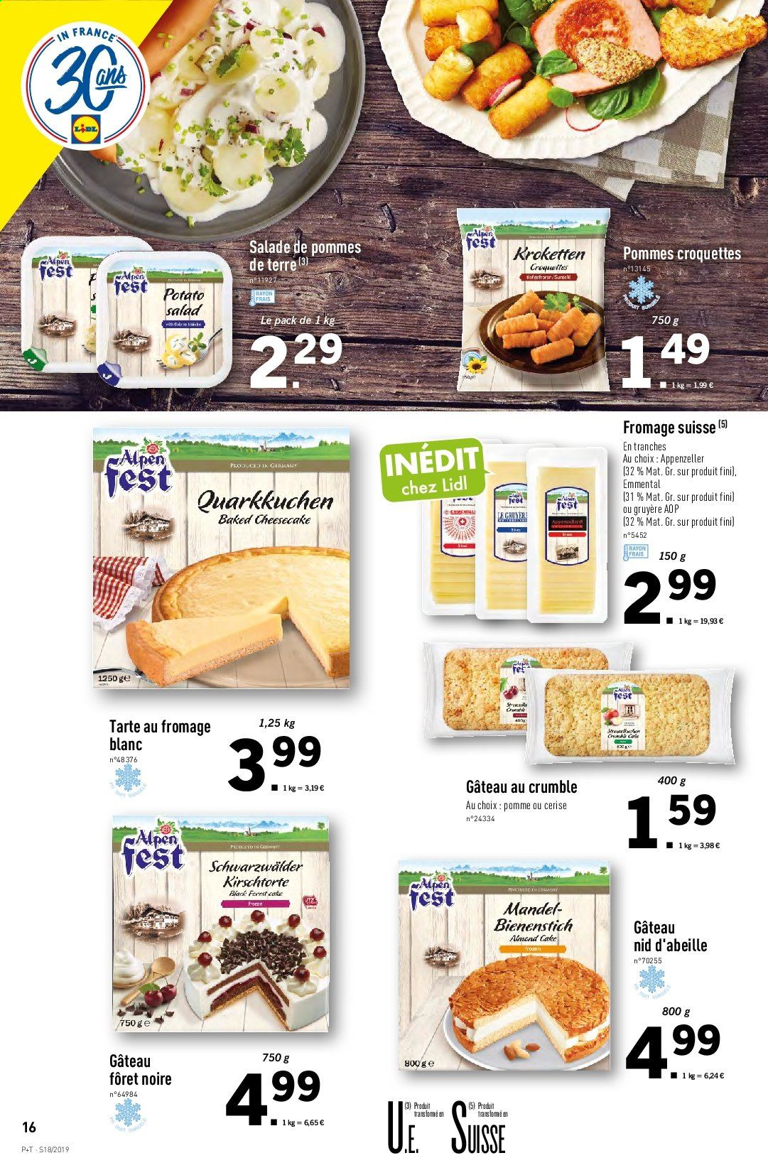 Catalogue Lidl - 30.04.2019 - 07.05.2019. Page 16.