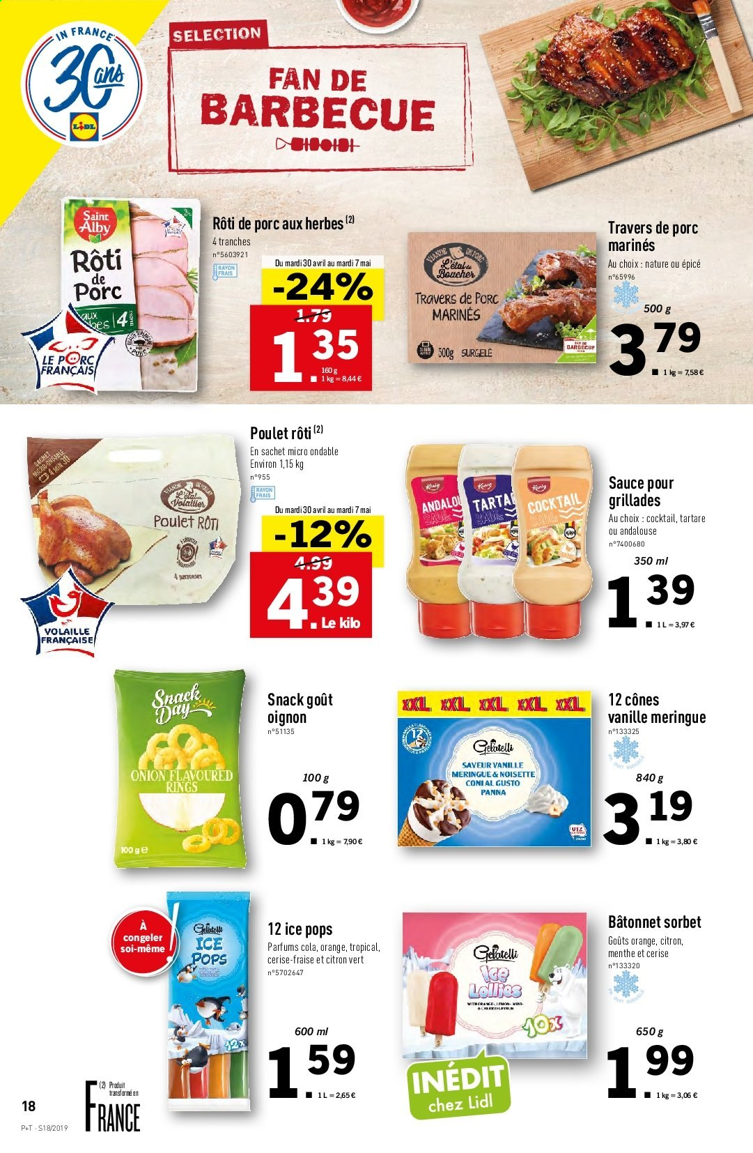 Catalogue Lidl - 30.04.2019 - 07.05.2019. Page 18.