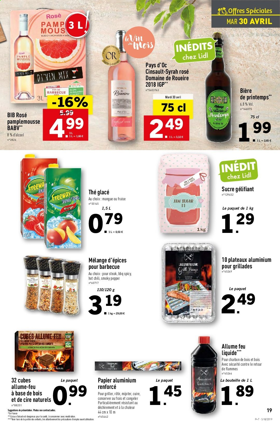 Catalogue Lidl - 30.04.2019 - 07.05.2019. Page 19.