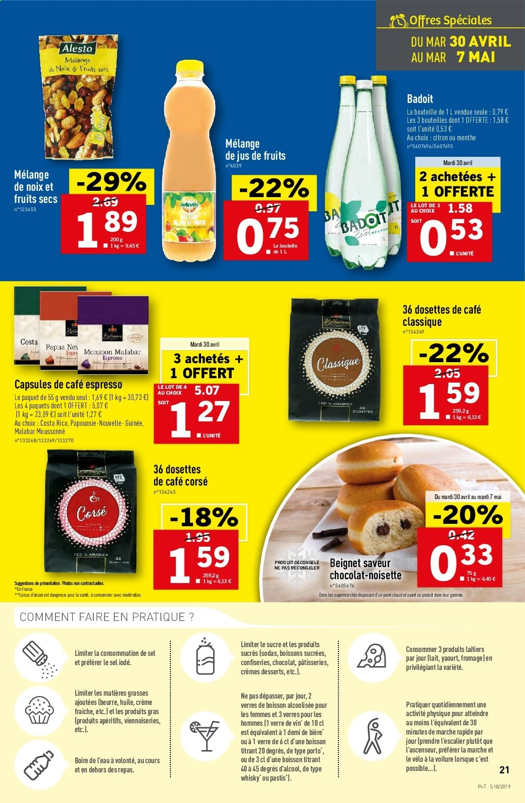 Catalogue Lidl - 30.04.2019 - 07.05.2019. Page 21.