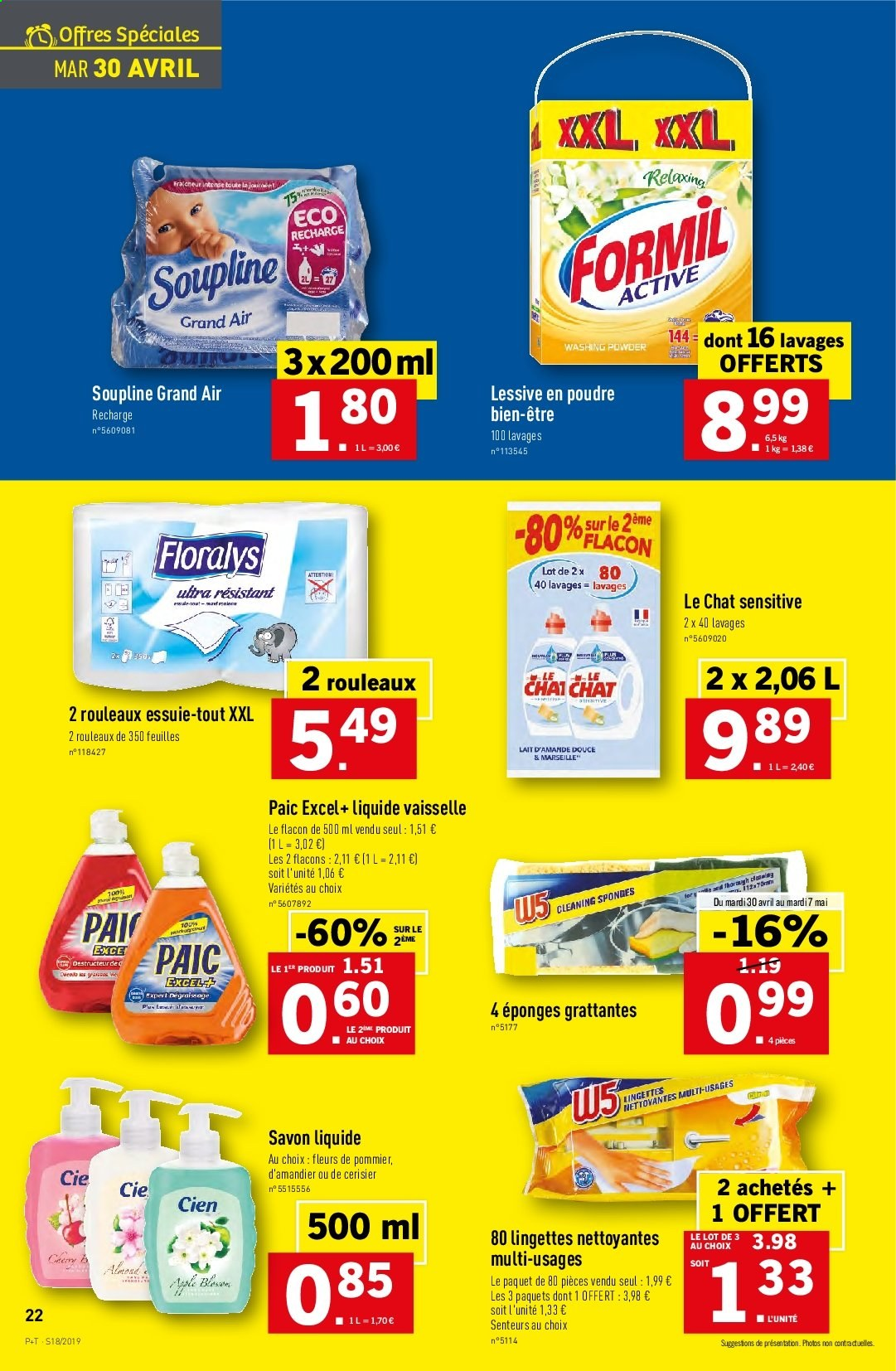 Catalogue Lidl - 30.04.2019 - 07.05.2019. Page 22.