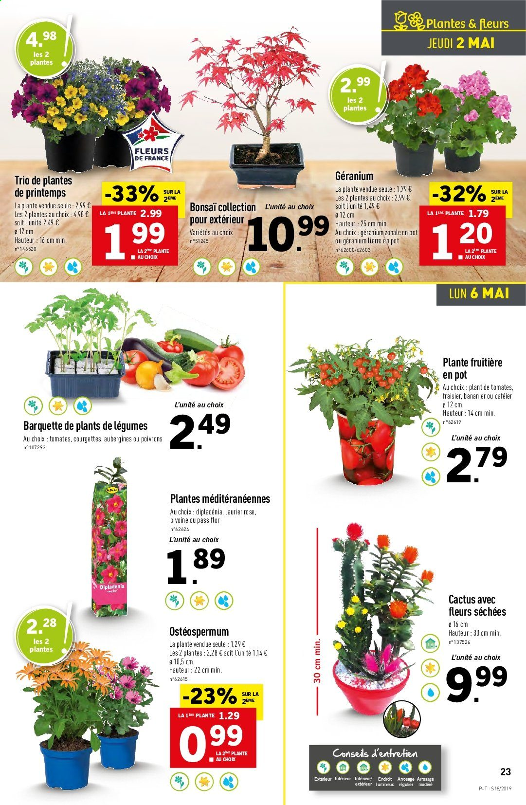 Catalogue Lidl - 30.04.2019 - 07.05.2019. Page 23.