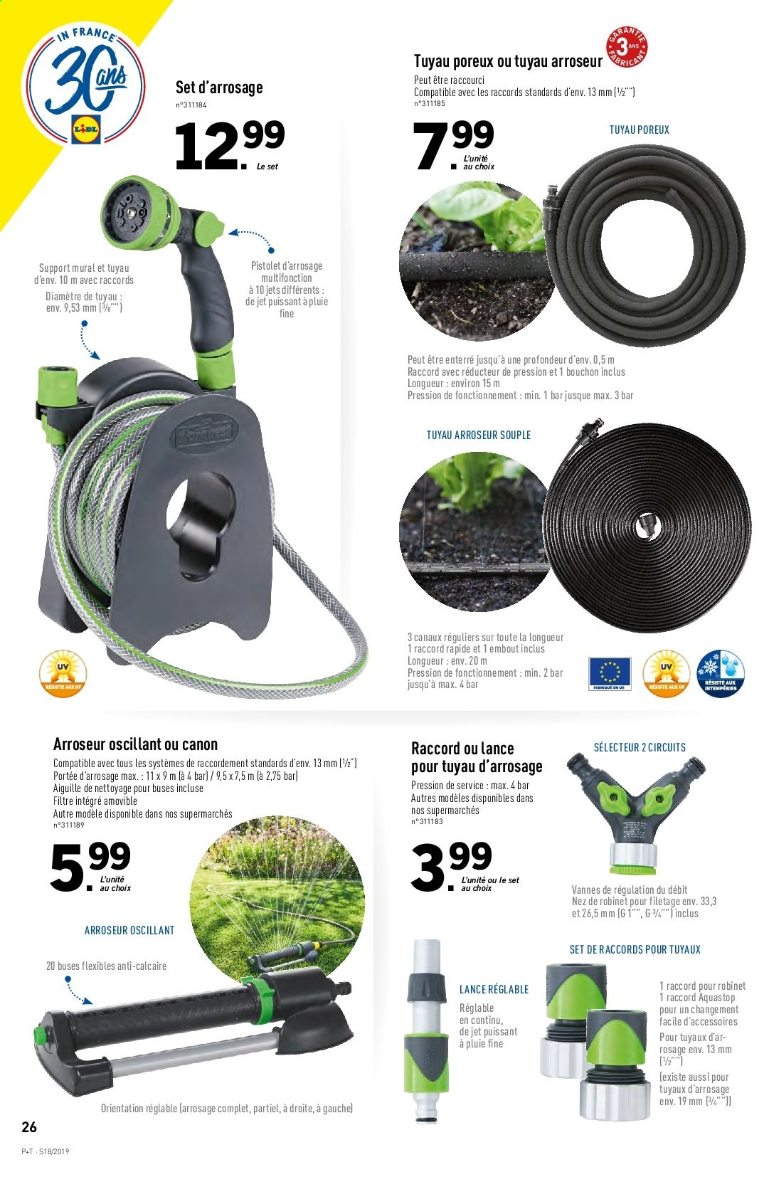 Catalogue Lidl - 30.04.2019 - 07.05.2019. Page 26.