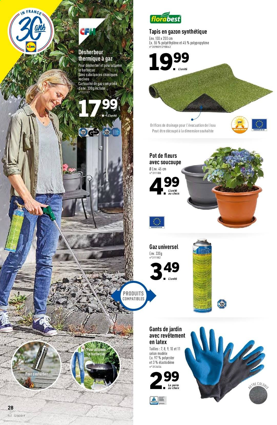 Catalogue Lidl - 30.04.2019 - 07.05.2019. Page 28.