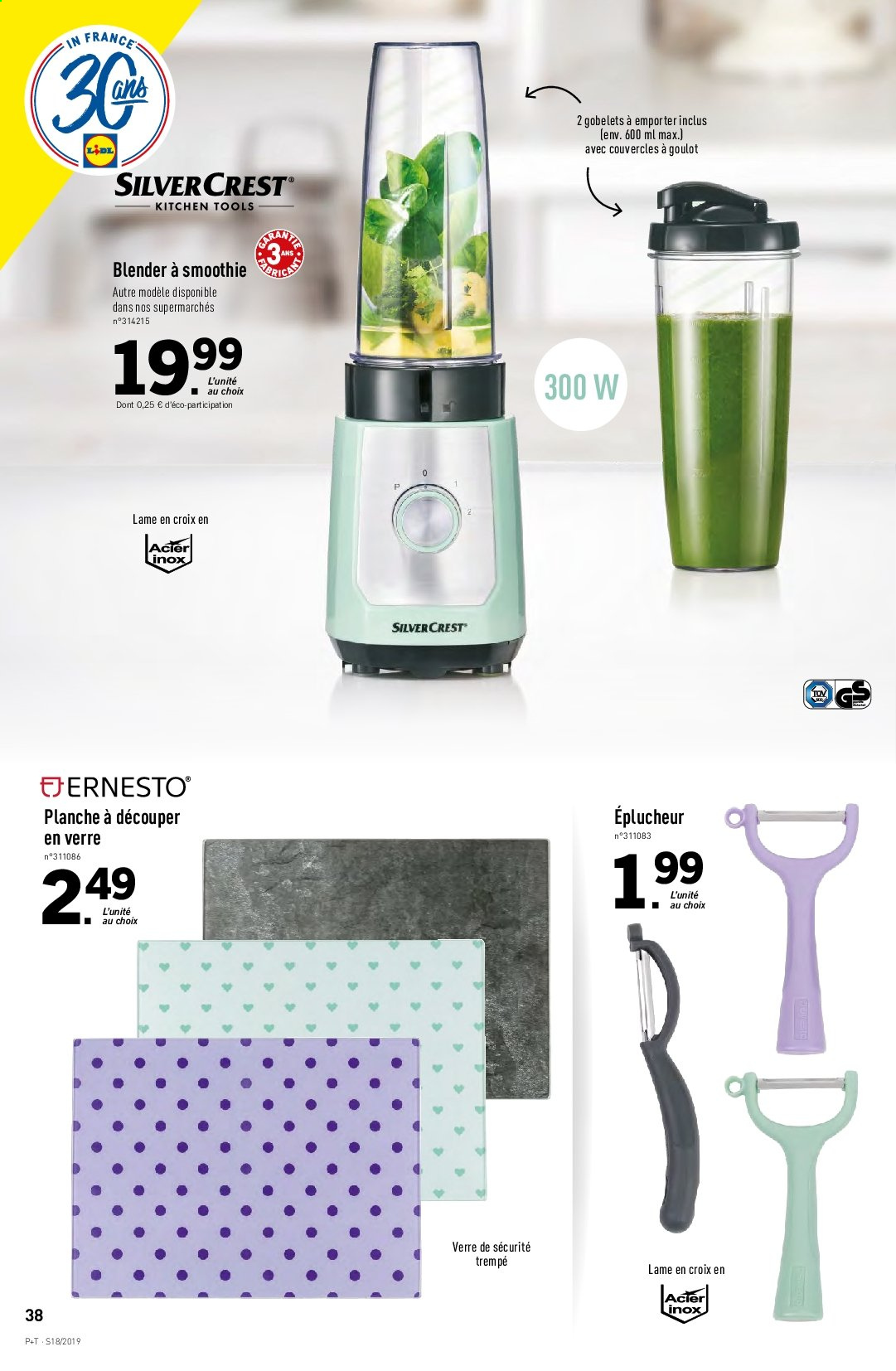 Catalogue Lidl - 30.04.2019 - 07.05.2019. Page 38.