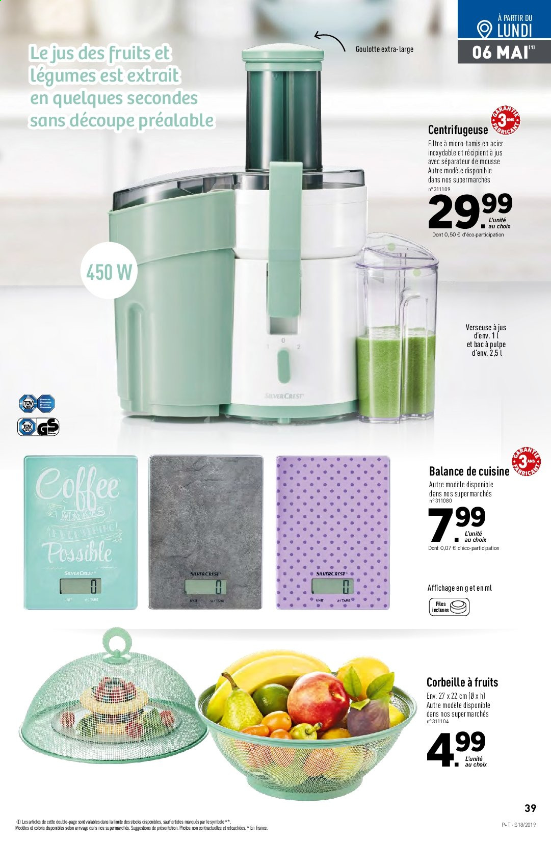 Catalogue Lidl - 30.04.2019 - 07.05.2019. Page 39.