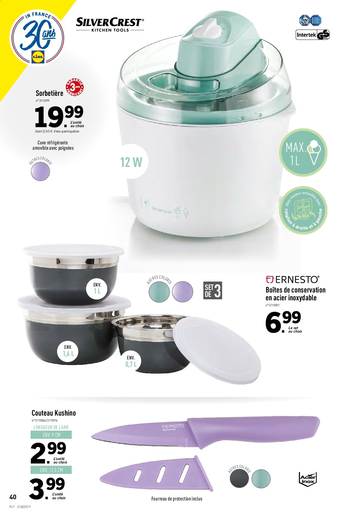 Catalogue Lidl - 30.04.2019 - 07.05.2019. Page 40.