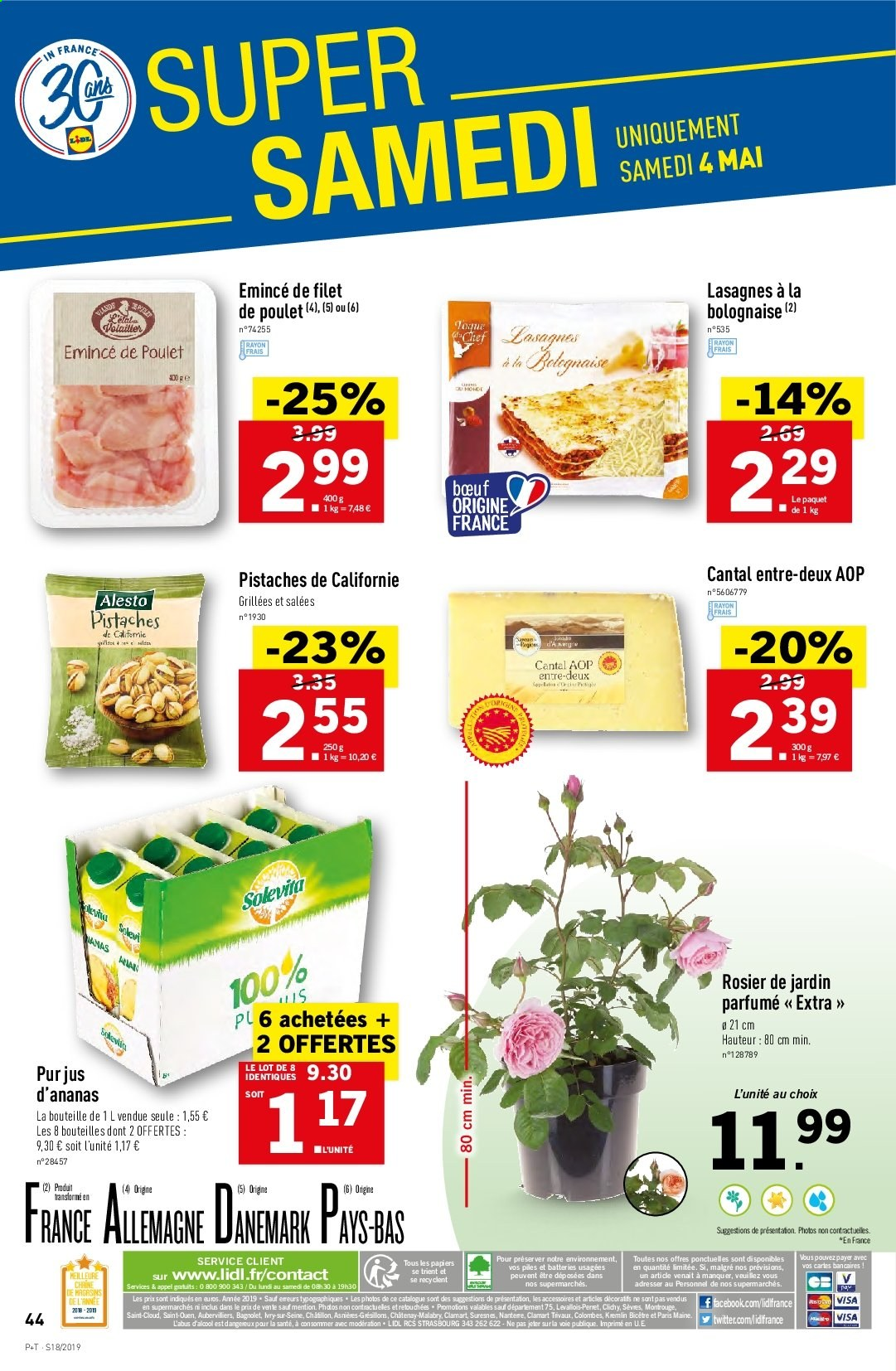 Catalogue Lidl - 30.04.2019 - 07.05.2019. Page 44.
