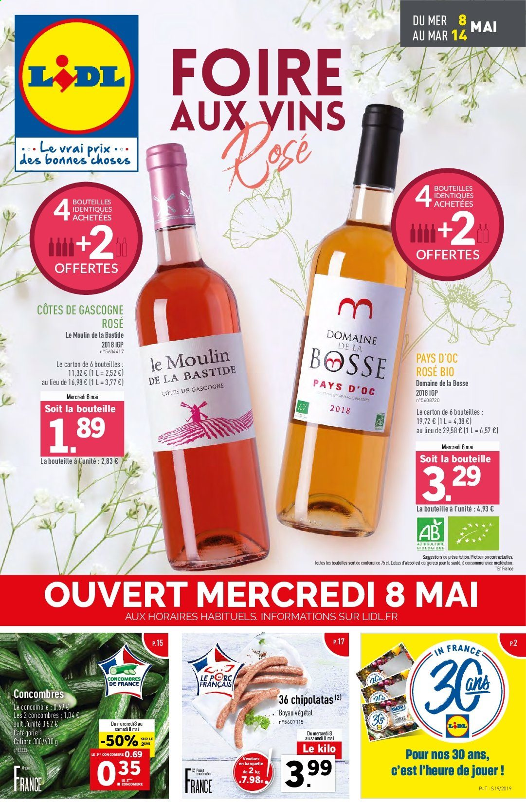 Catalogue Lidl - 08.05.2019 - 14.05.2019. Page 1.