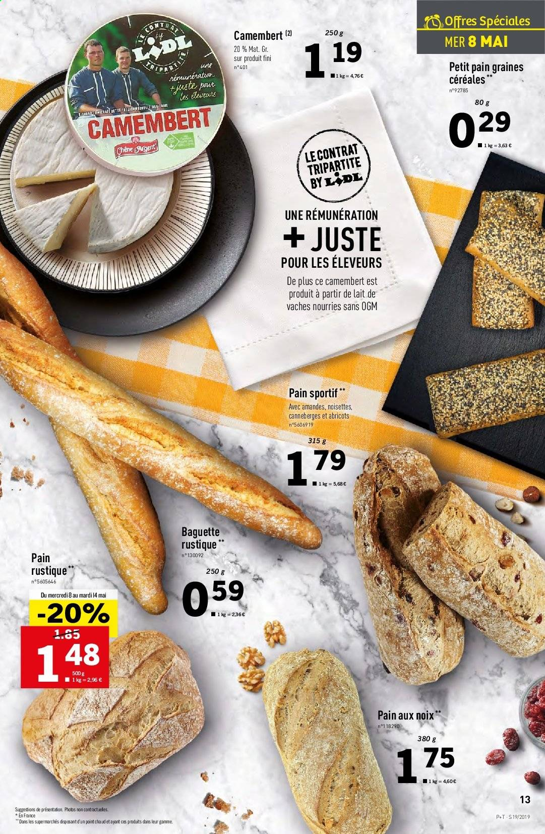 Catalogue Lidl - 08.05.2019 - 14.05.2019. Page 13.
