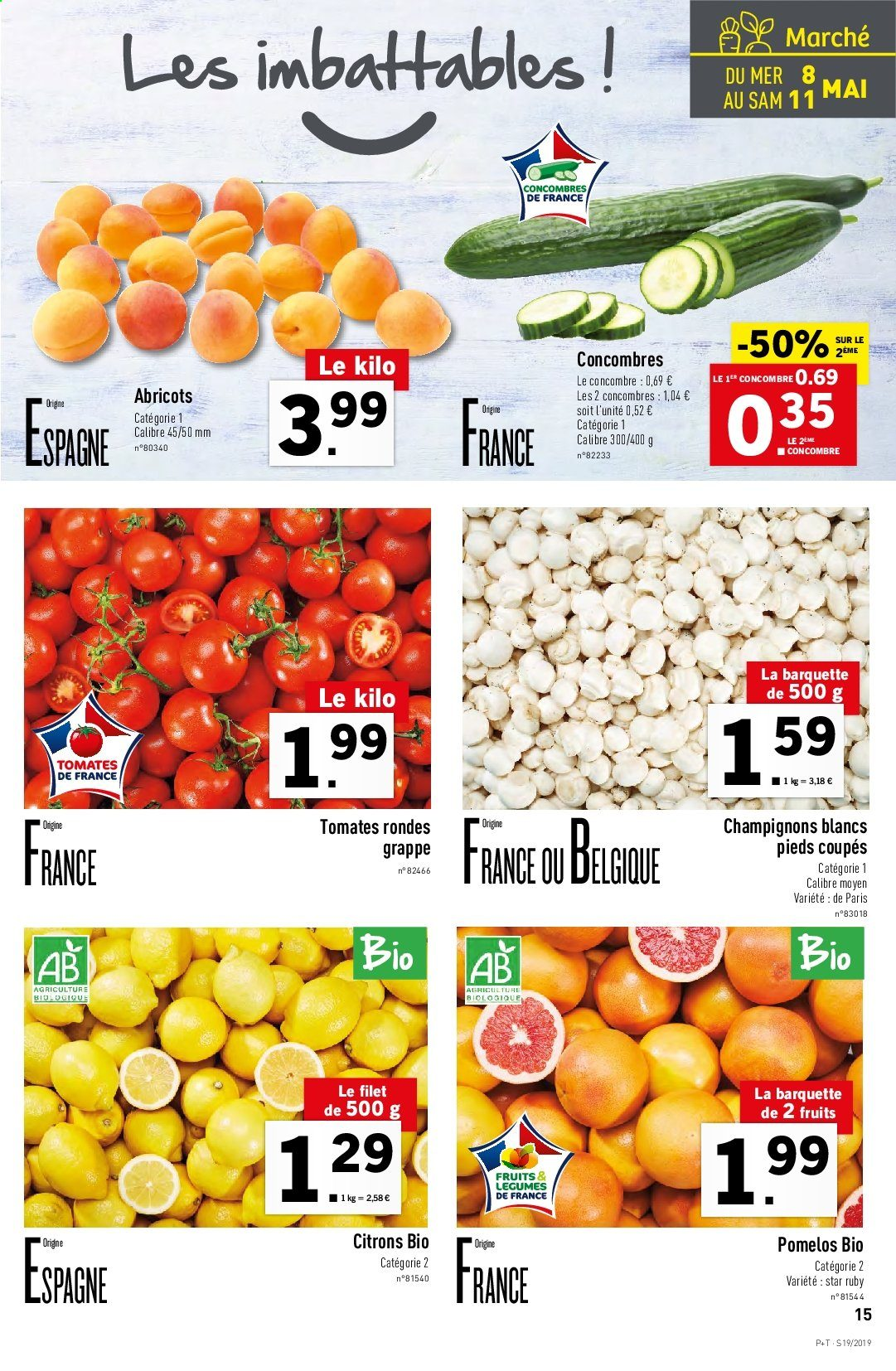 Catalogue Lidl - 08.05.2019 - 14.05.2019. Page 15.
