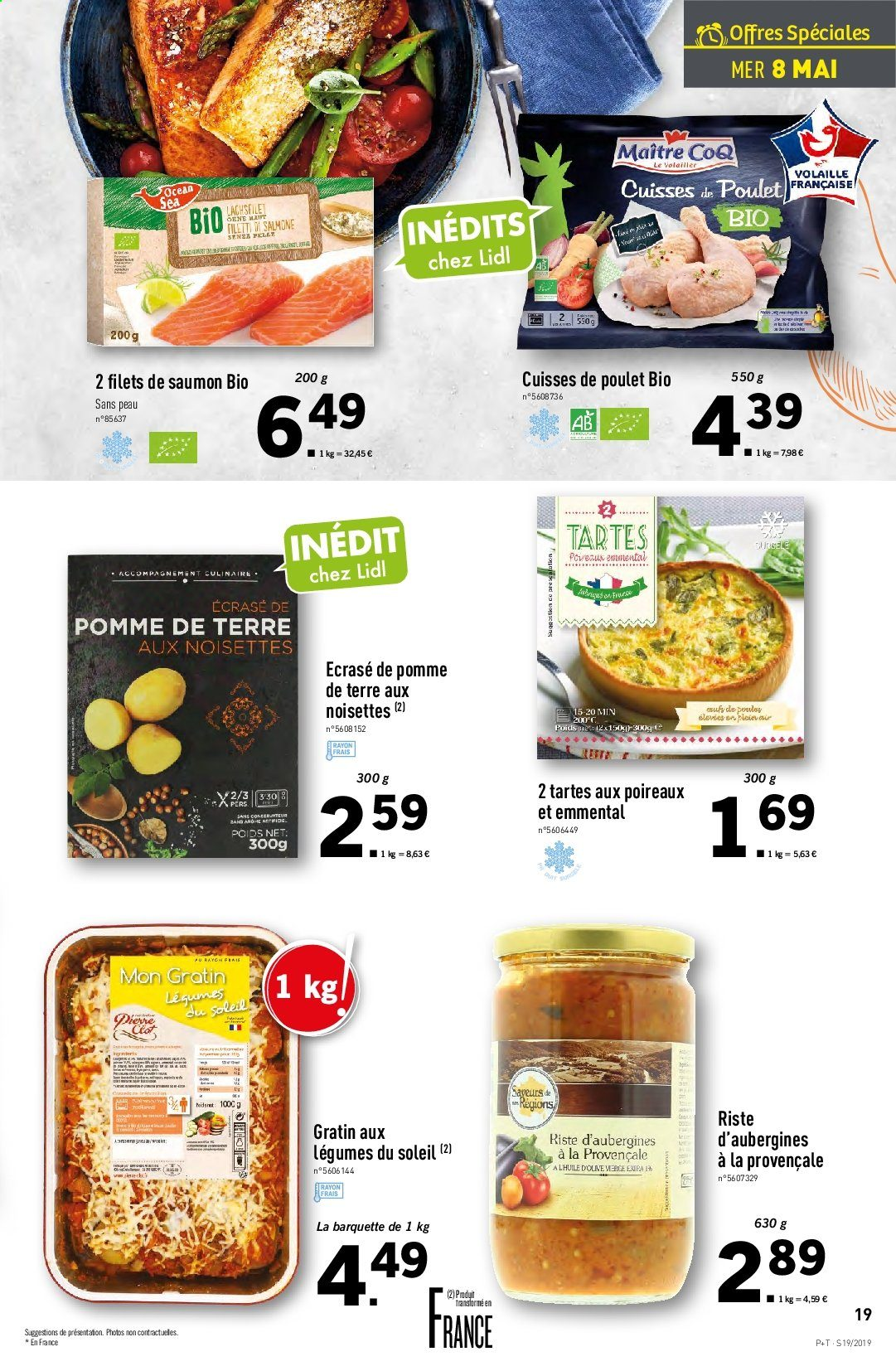Catalogue Lidl - 08.05.2019 - 14.05.2019. Page 19.