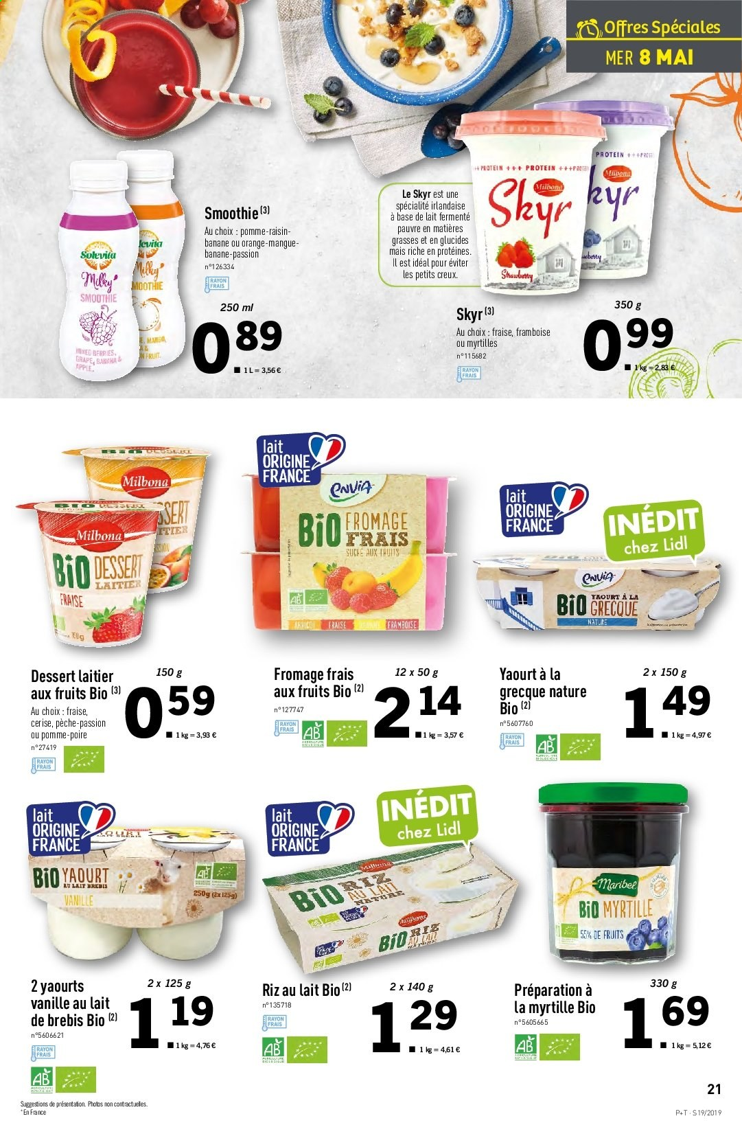 Catalogue Lidl - 08.05.2019 - 14.05.2019. Page 21.