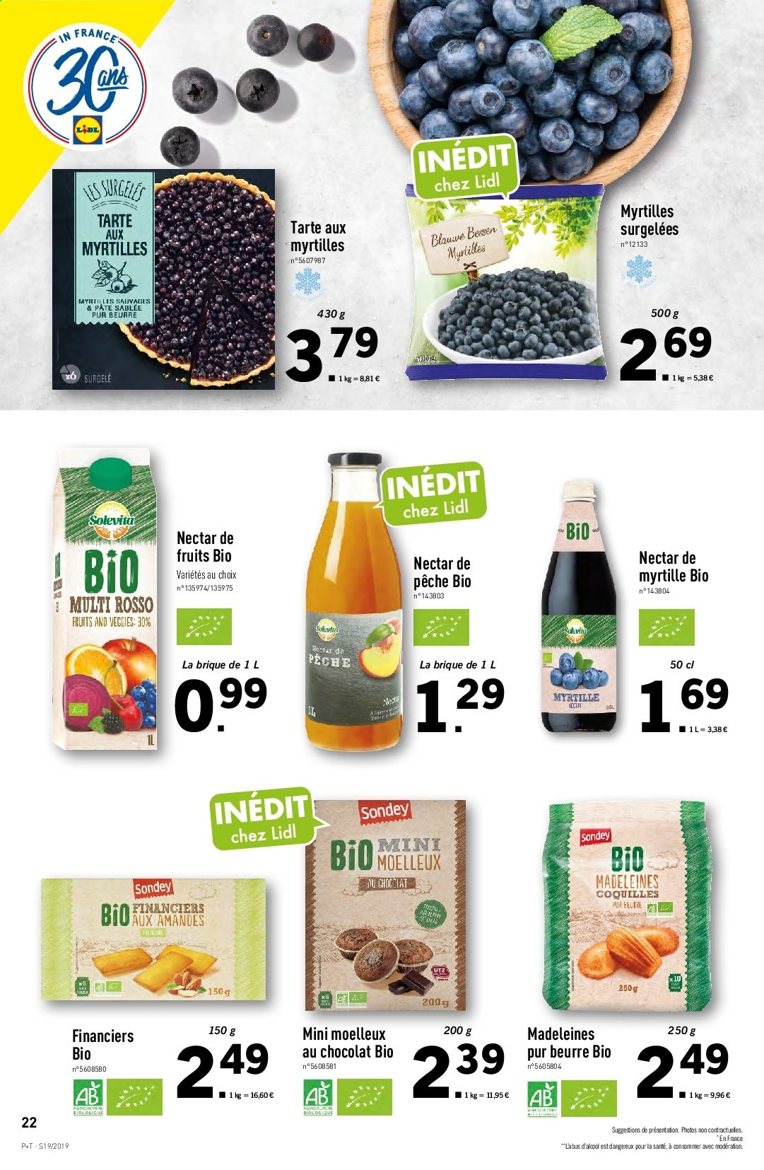 Catalogue Lidl - 08.05.2019 - 14.05.2019. Page 22.