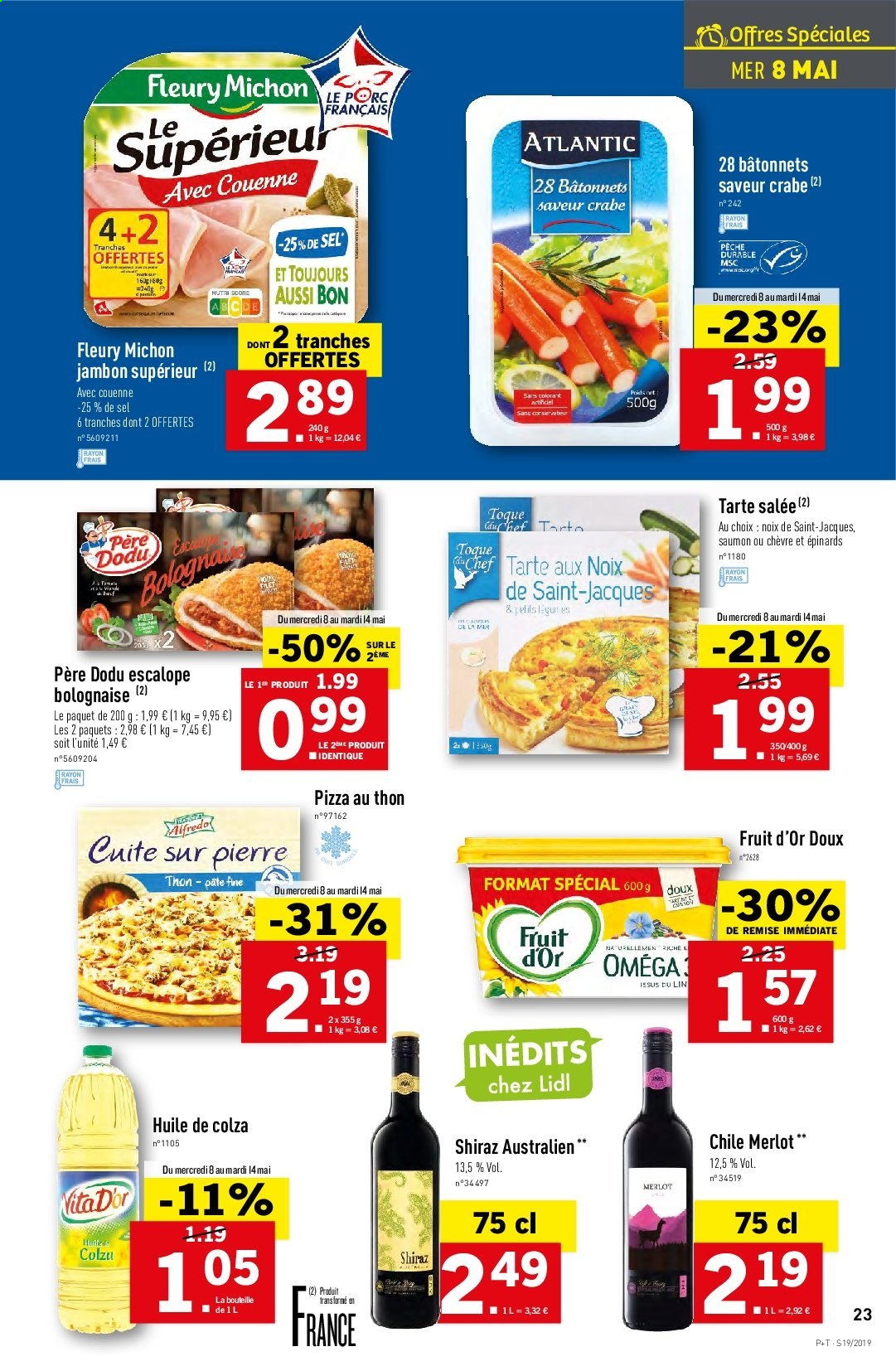 Catalogue Lidl - 08.05.2019 - 14.05.2019. Page 23.