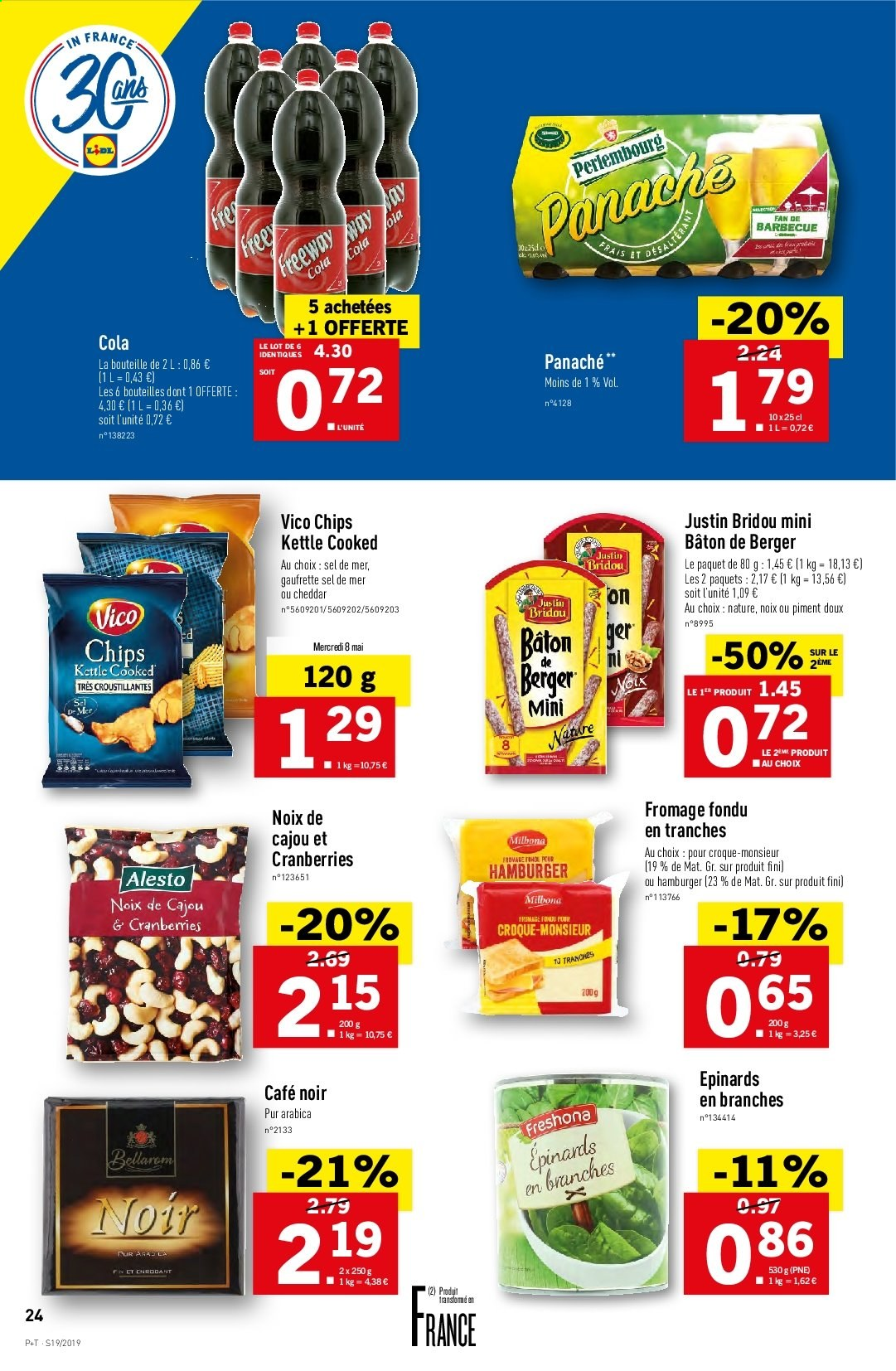 Catalogue Lidl - 08.05.2019 - 14.05.2019. Page 24.