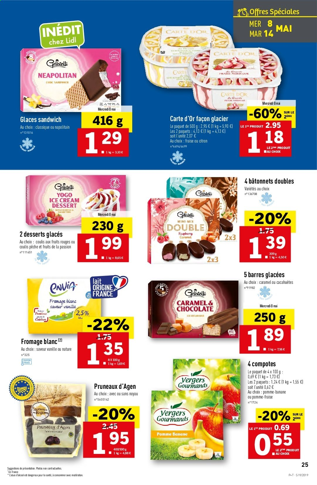 Catalogue Lidl - 08.05.2019 - 14.05.2019. Page 25.