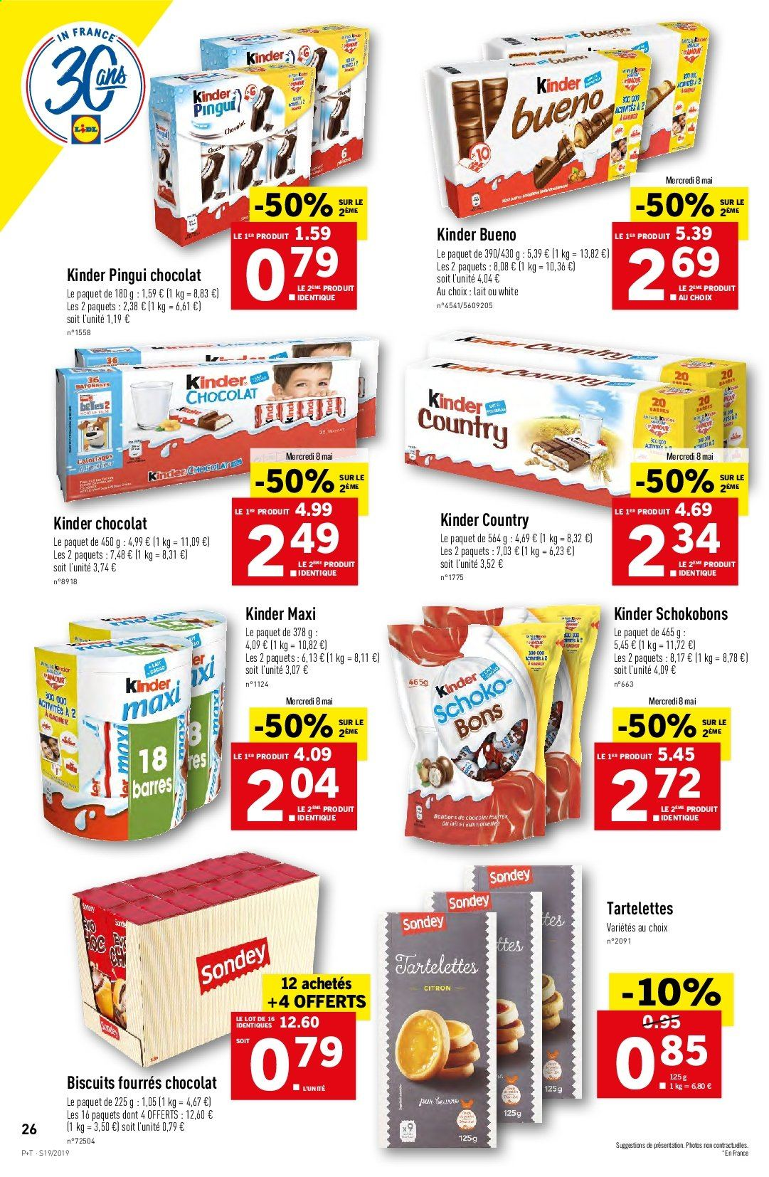 Catalogue Lidl - 08.05.2019 - 14.05.2019. Page 26.
