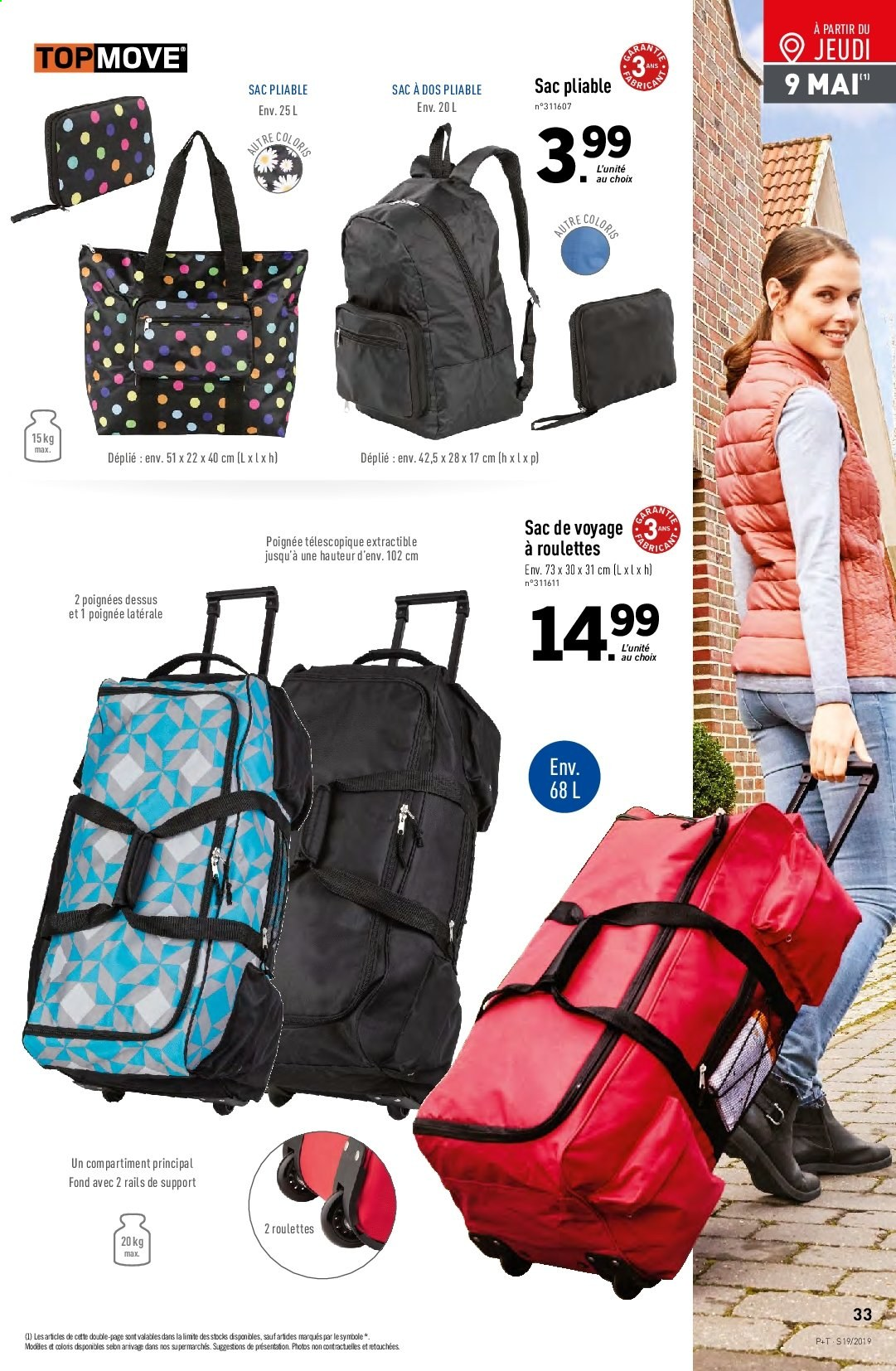 Catalogue Lidl - 08.05.2019 - 14.05.2019. Page 33.
