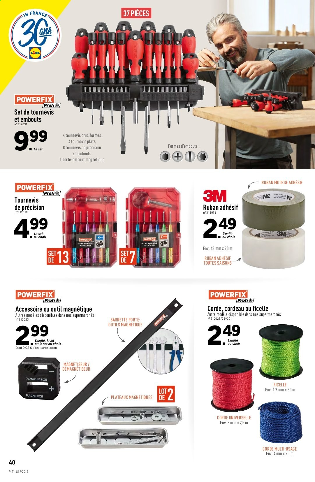 Catalogue Lidl - 08.05.2019 - 14.05.2019. Page 40.