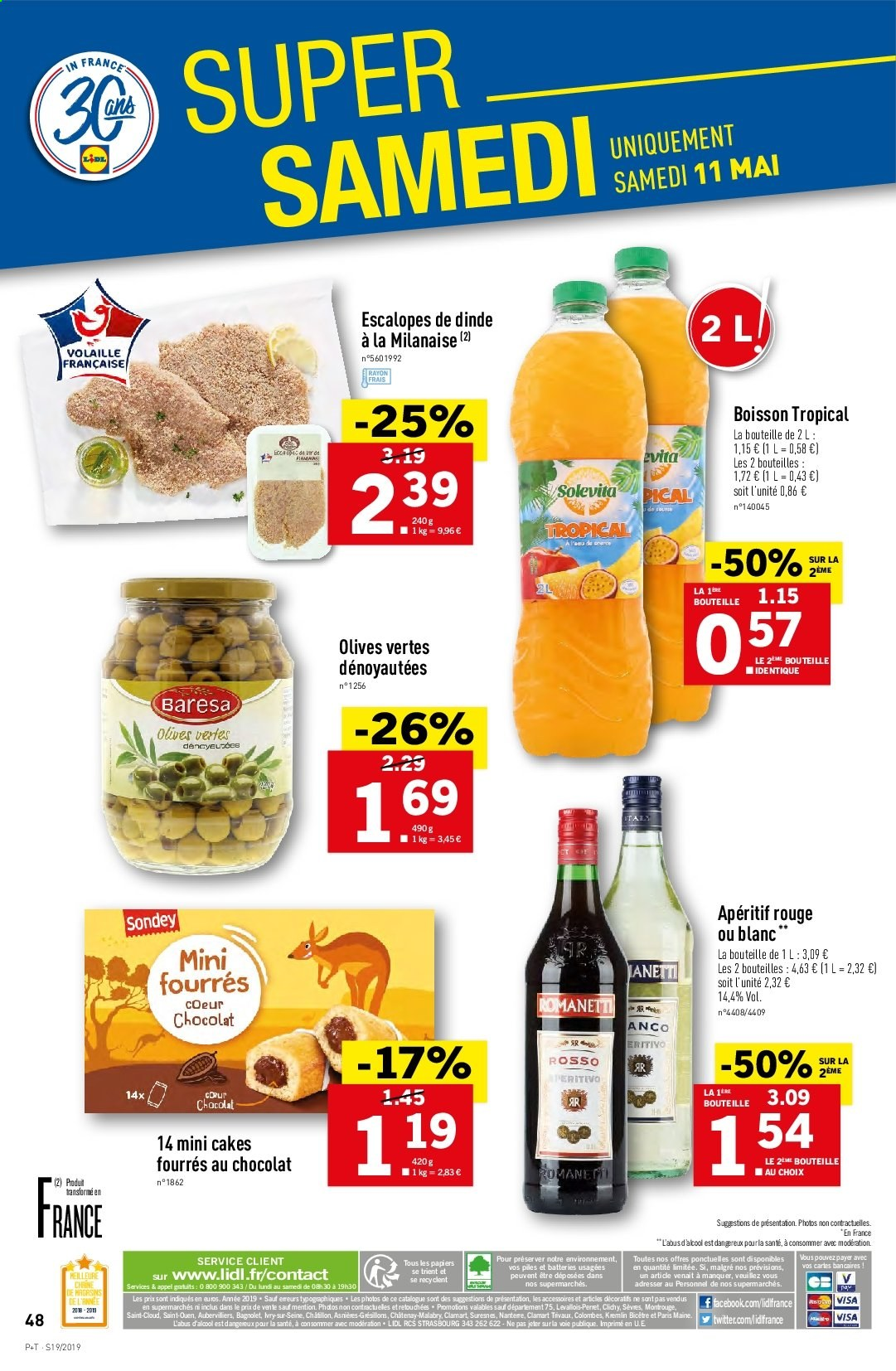 Catalogue Lidl - 08.05.2019 - 14.05.2019. Page 50.