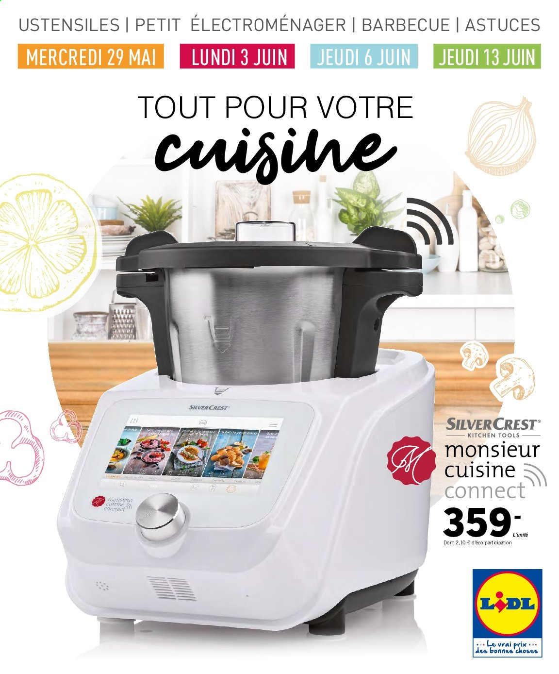 Catalogue Lidl - 29.05.2019 - 13.06.2019. Page 1.