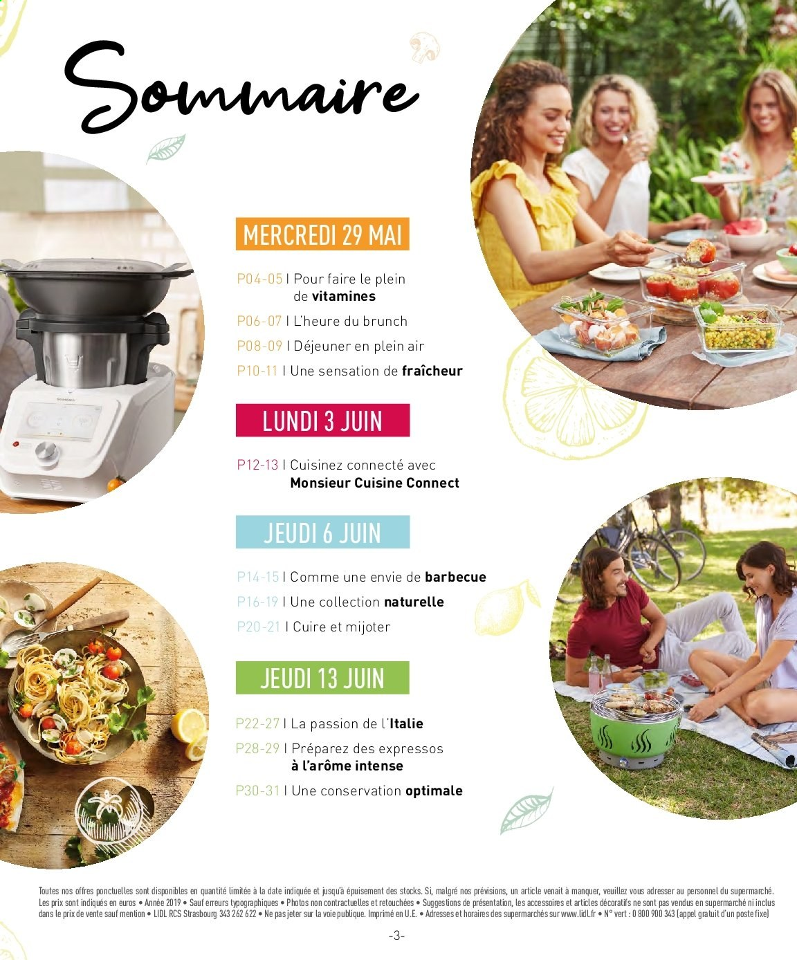 Catalogue Lidl - 29.05.2019 - 13.06.2019. Page 3.