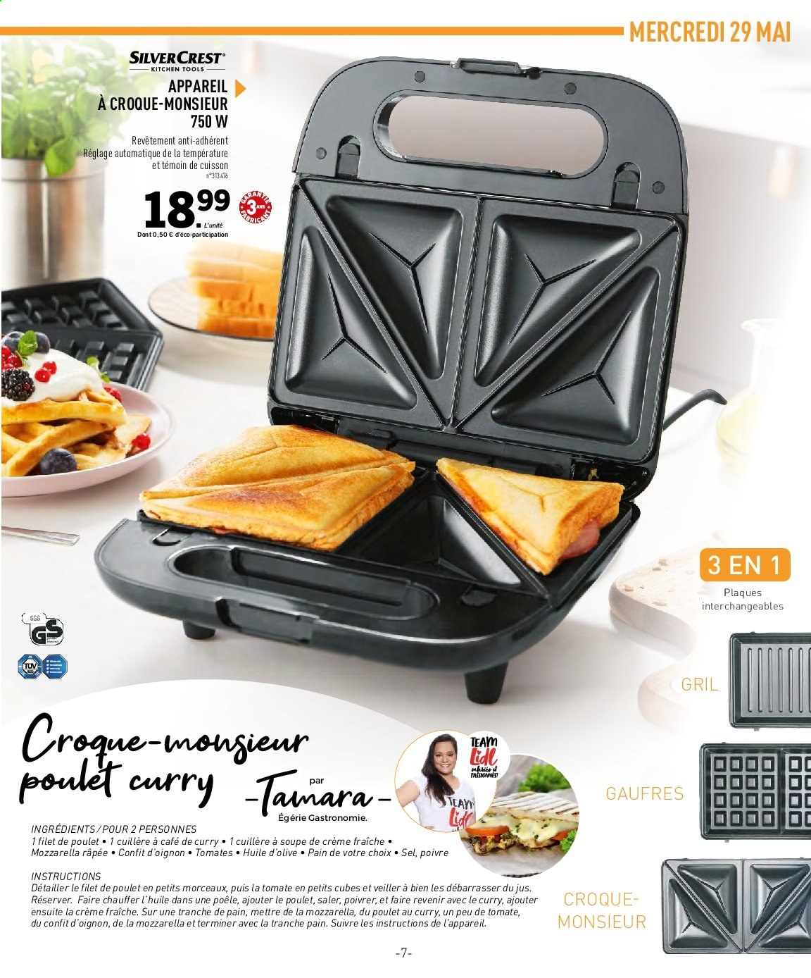 Catalogue Lidl - 29.05.2019 - 13.06.2019. Page 7.
