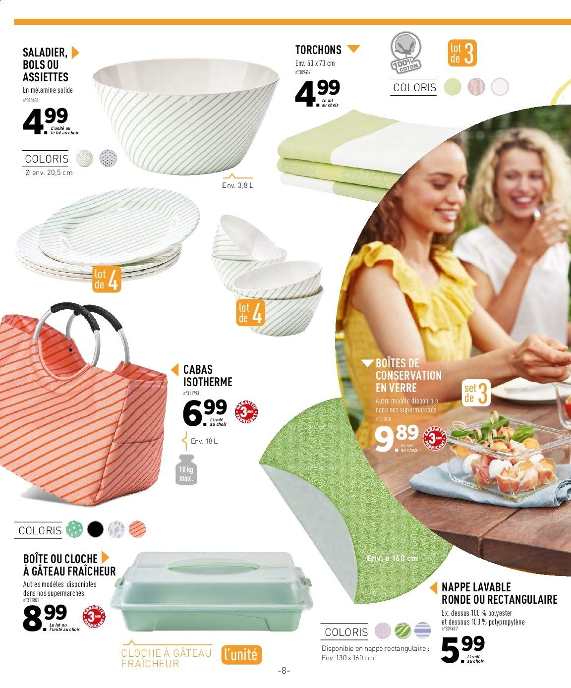 Catalogue Lidl - 29.05.2019 - 13.06.2019. Page 8.