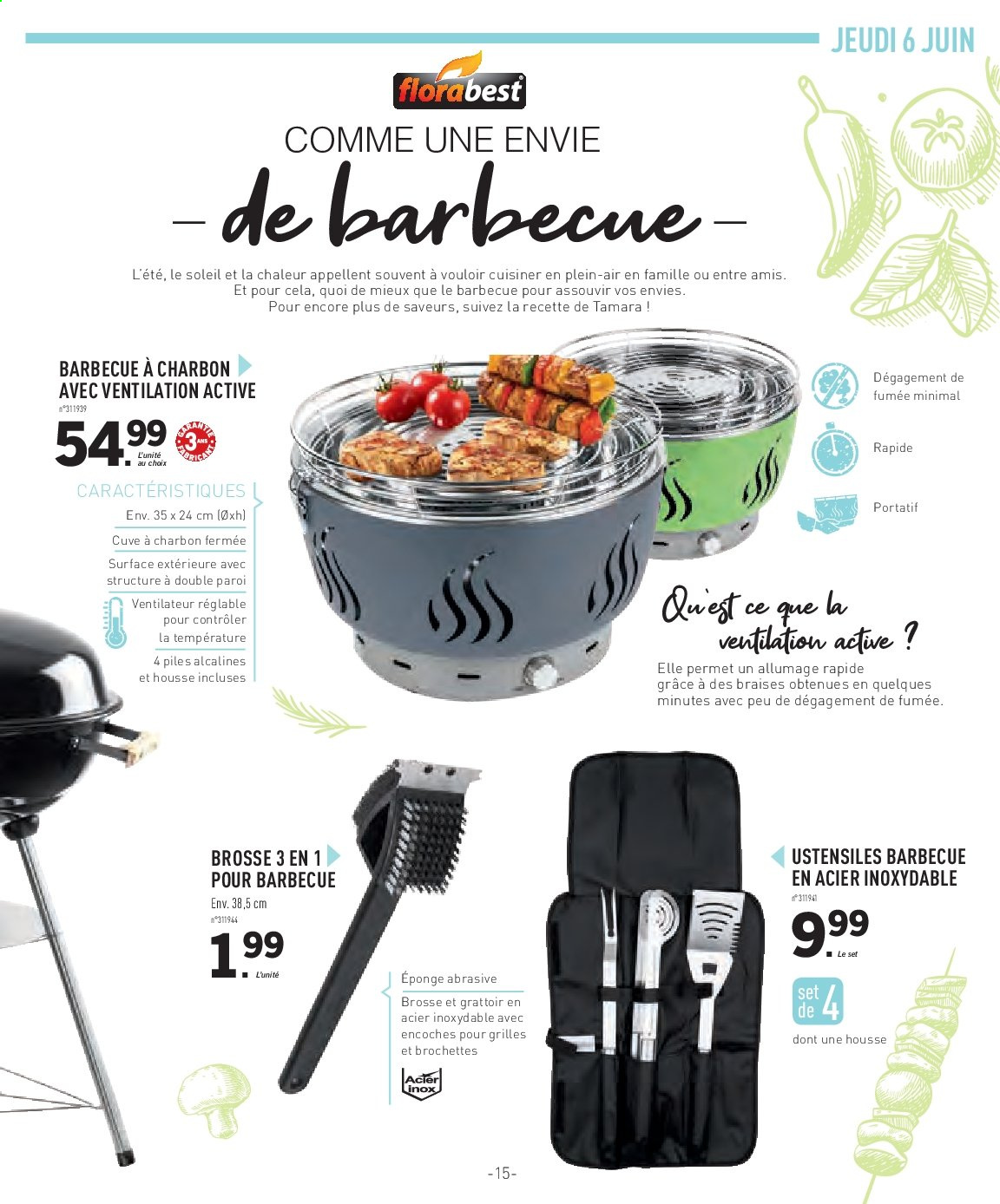 Catalogue Lidl - 29.05.2019 - 13.06.2019. Page 15.