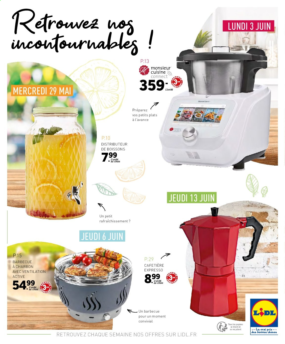 Catalogue Lidl - 29.05.2019 - 13.06.2019. Page 32.