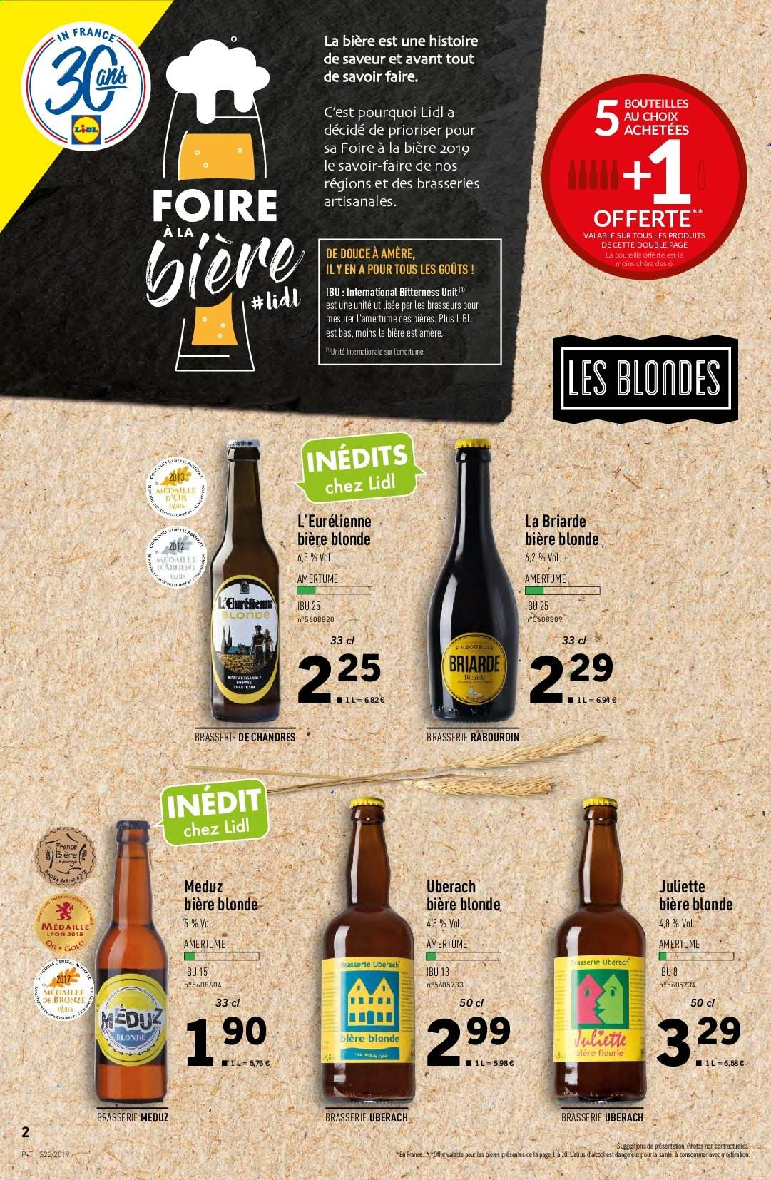 Catalogue Lidl - 29.05.2019 - 04.06.2019. Page 2.