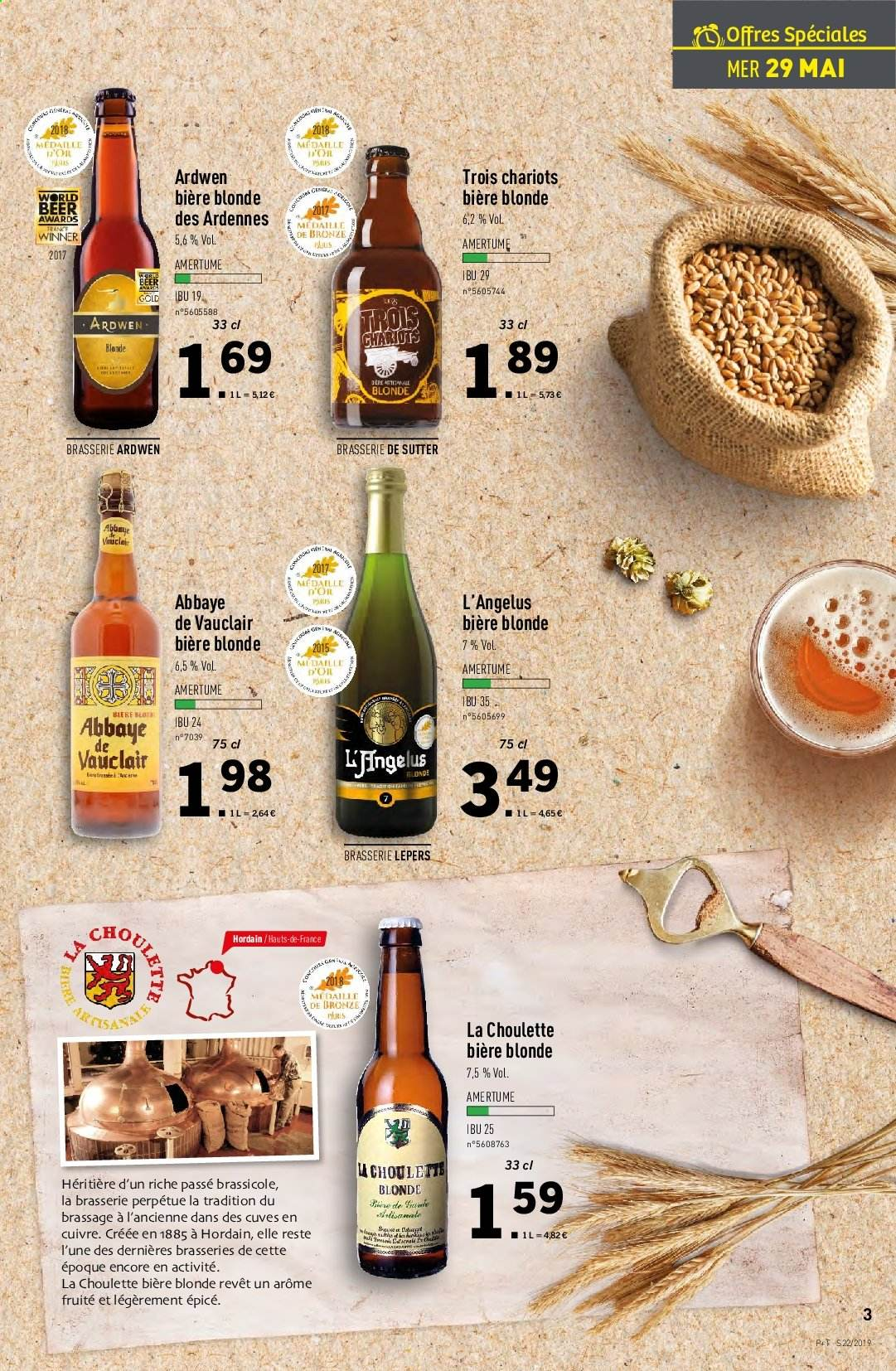 Catalogue Lidl - 29.05.2019 - 04.06.2019. Page 3.