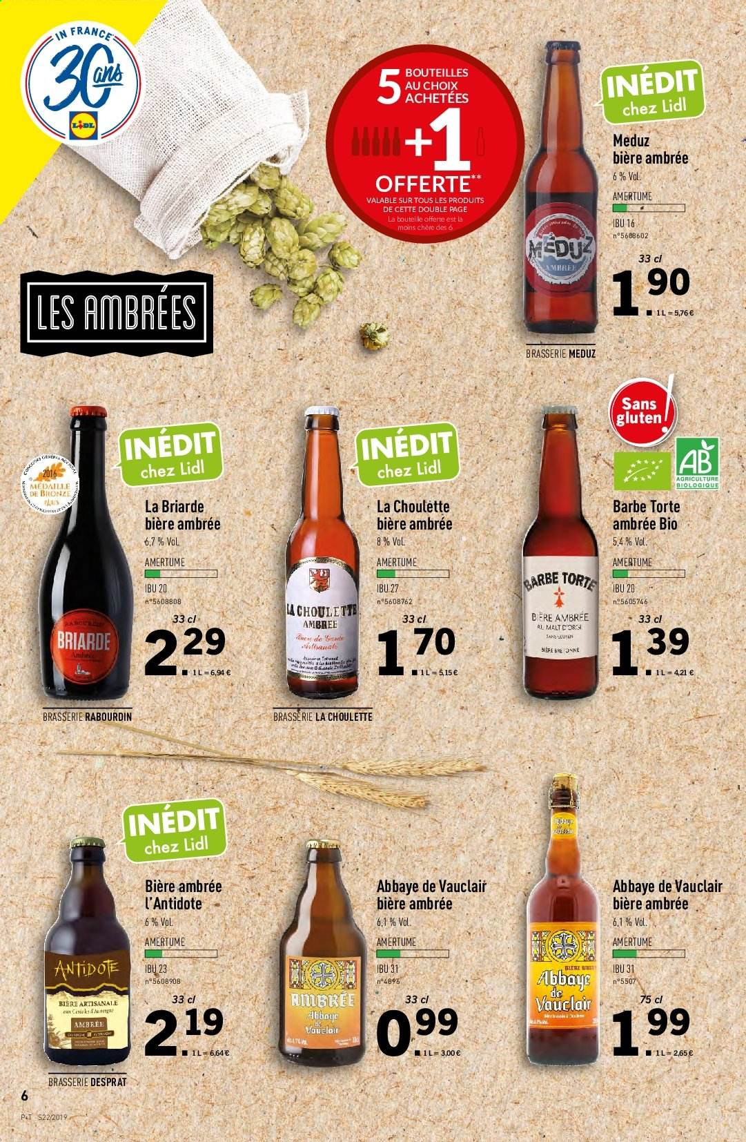 Catalogue Lidl - 29.05.2019 - 04.06.2019. Page 6.